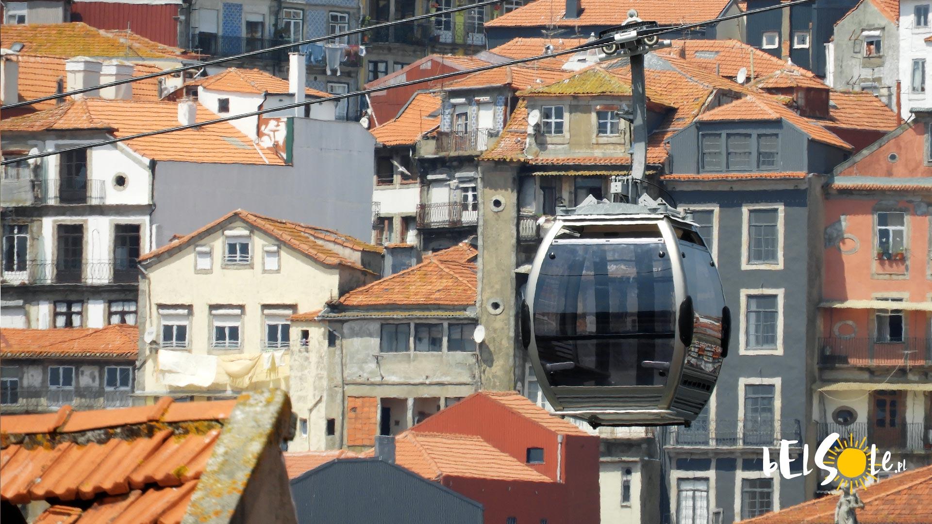 Kolejka linowa w Porto