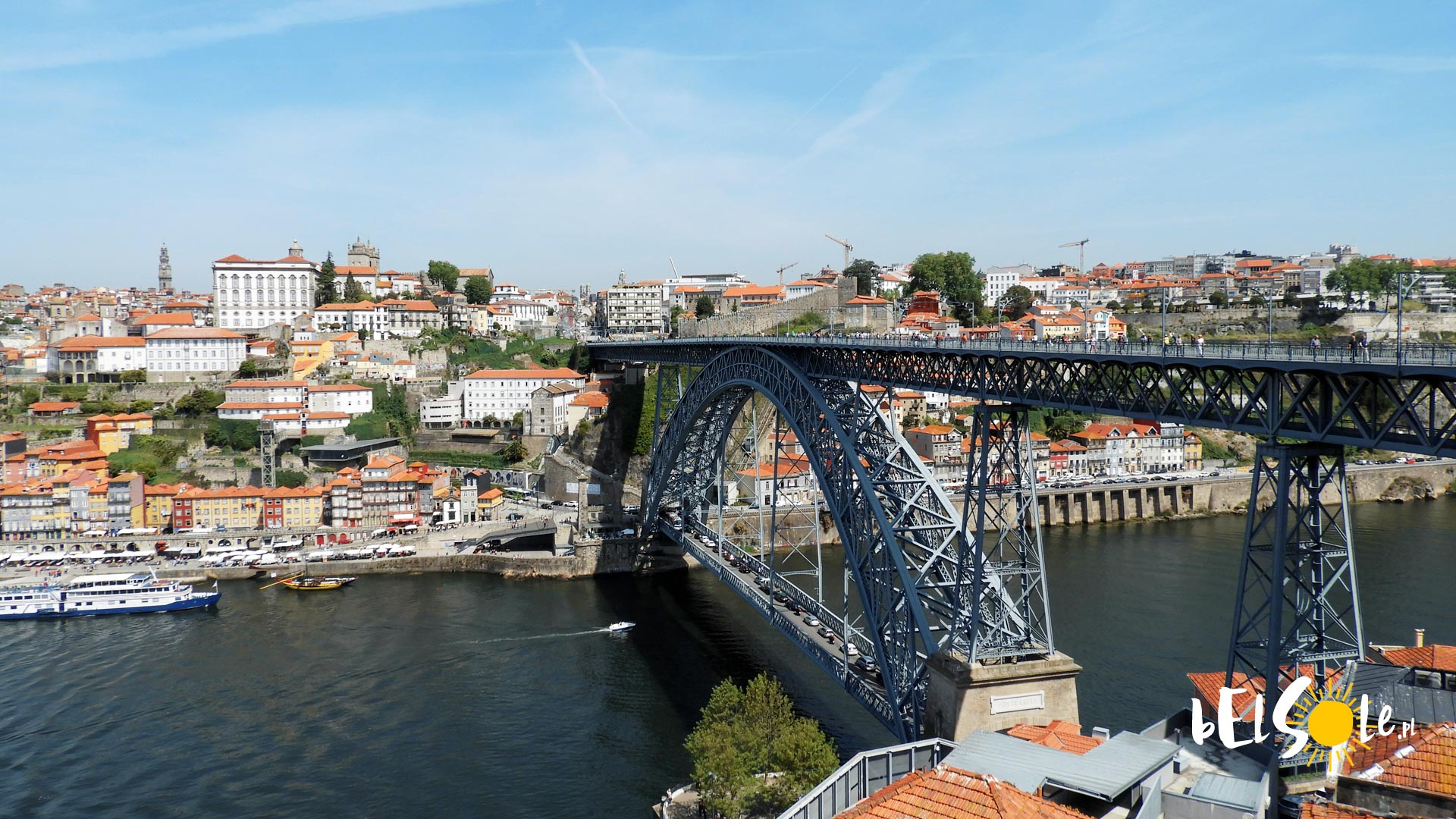 Słynny most w Porto - Most Ludwika I