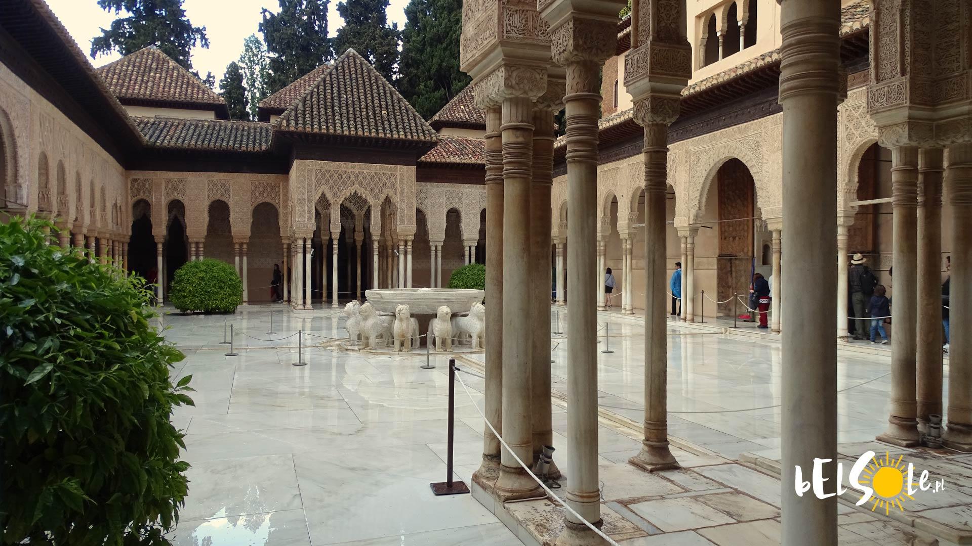 Pałac Nasrida w Alhambrze