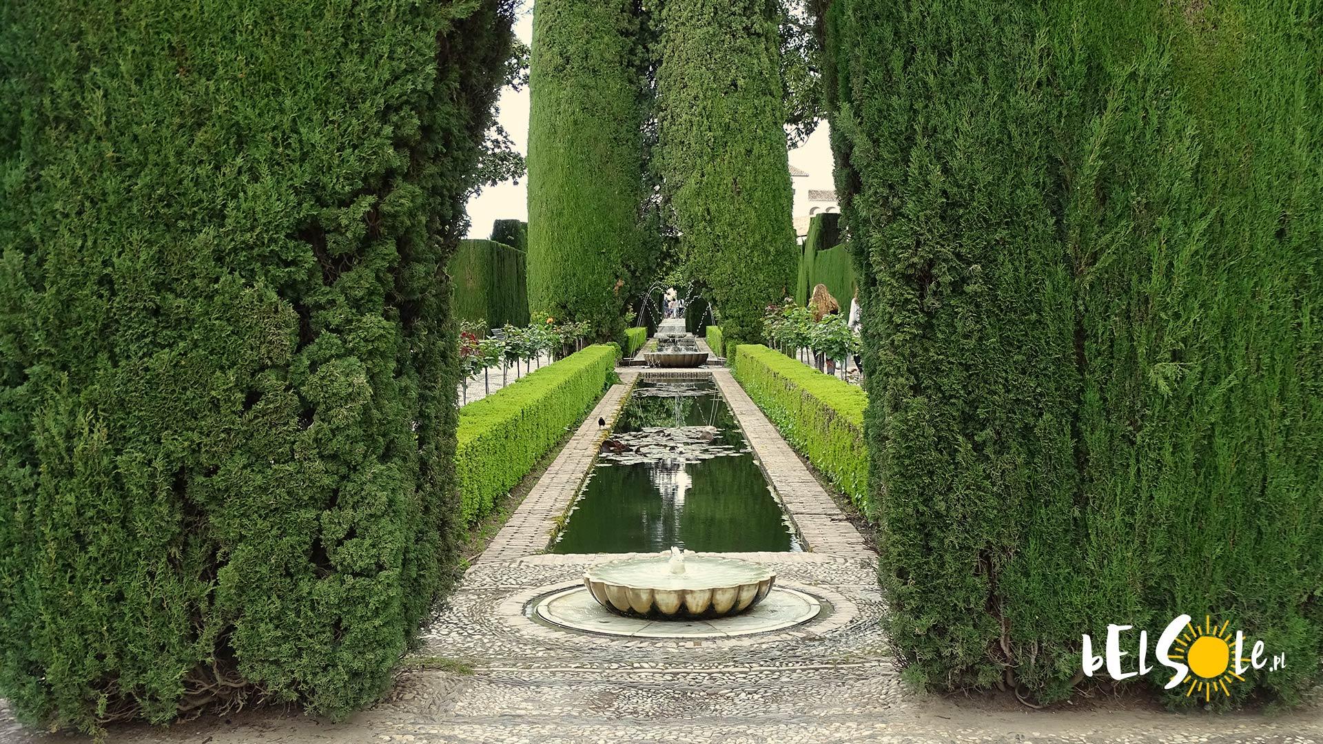 Alhambra ogrody