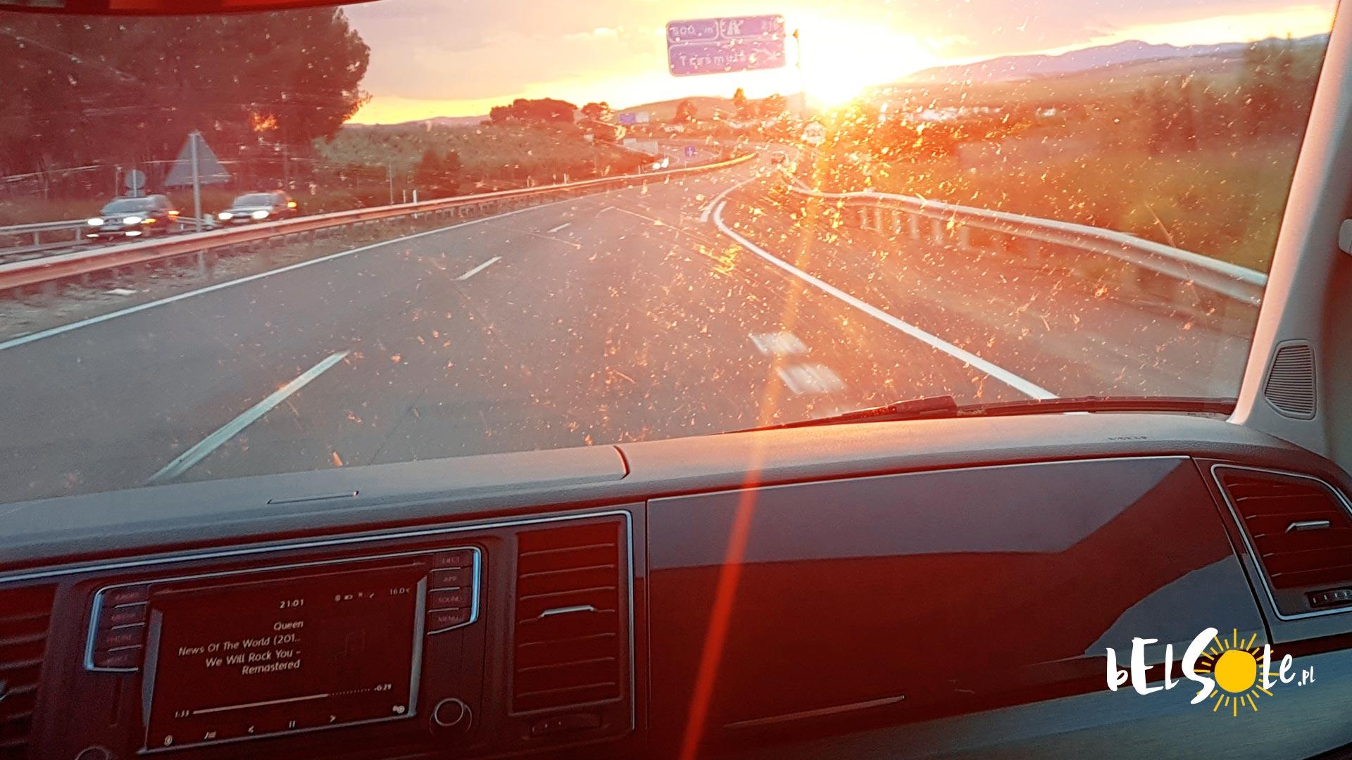 Przepisy drogowe w Hiszpanii