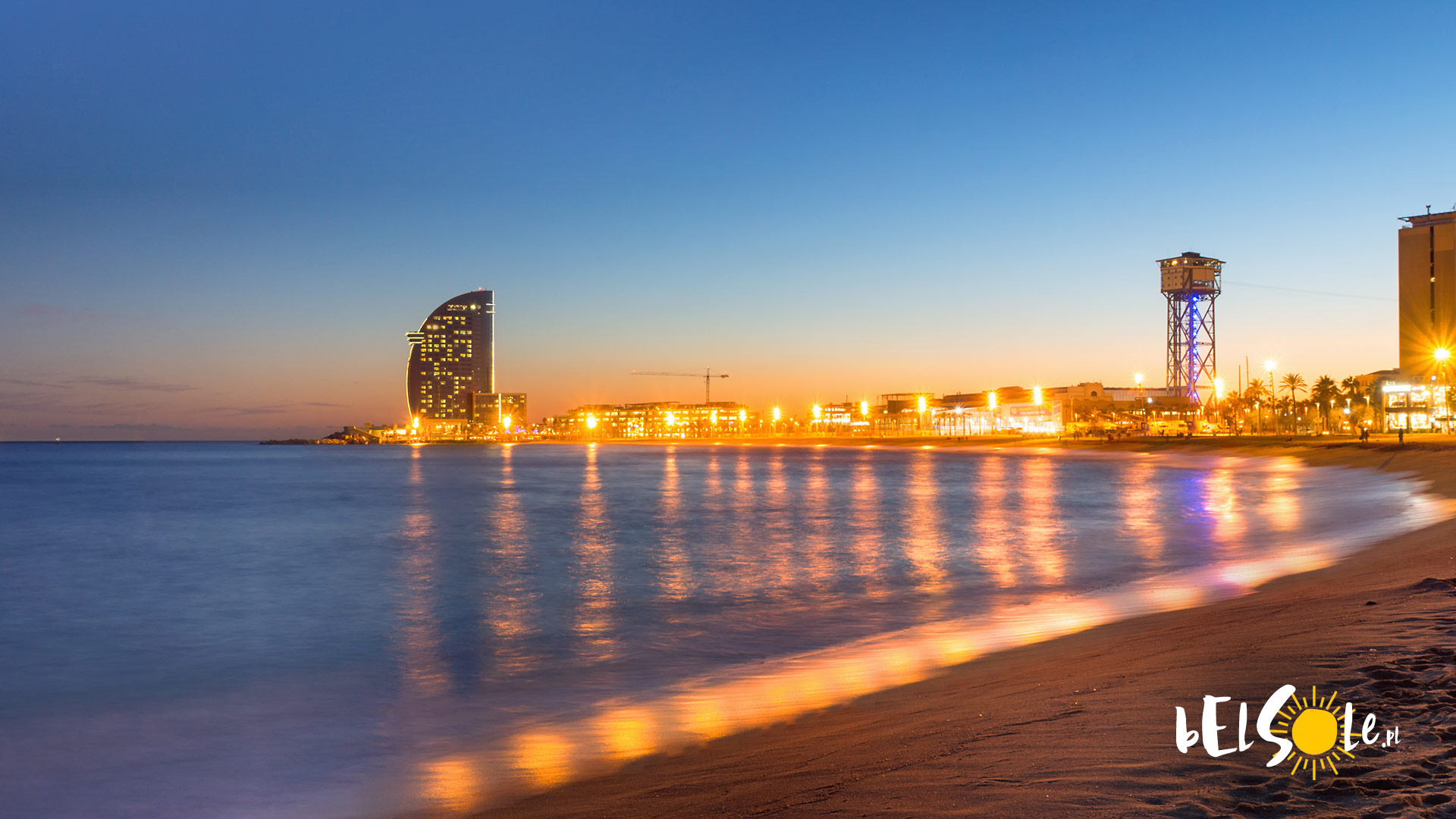 Plaża w Barcelonie