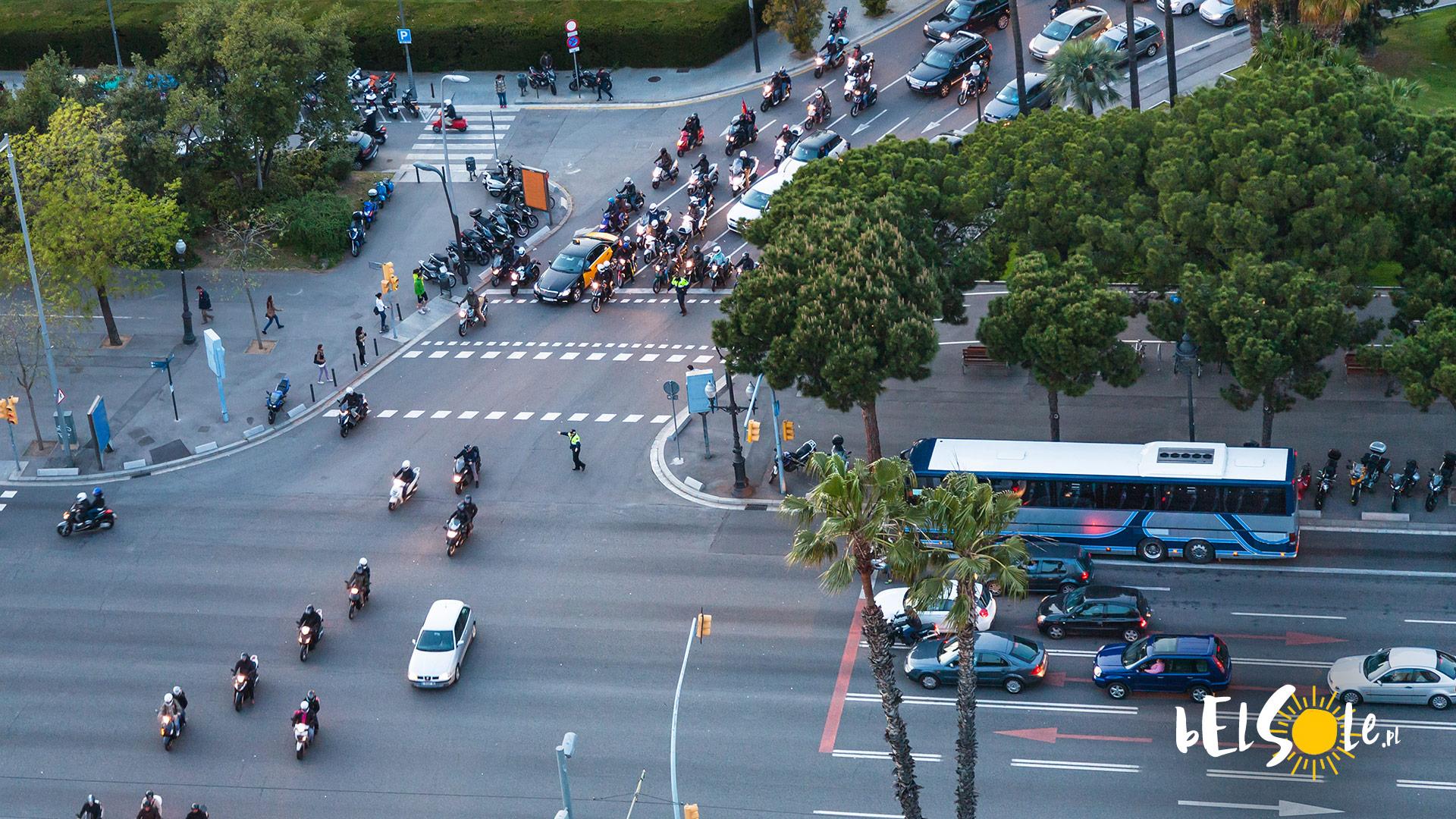 Barcelona Ulice Bezpieczeństwo