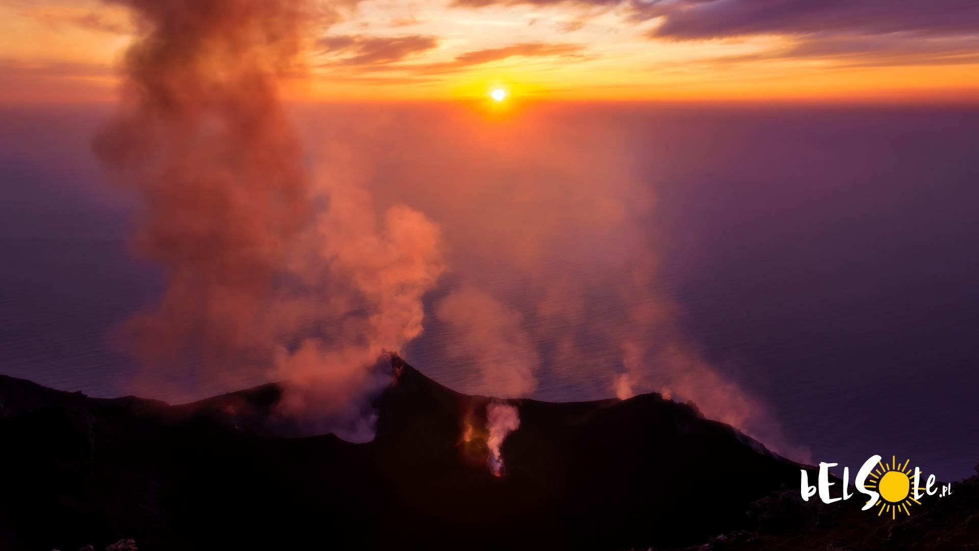 Etna wybuch 2019