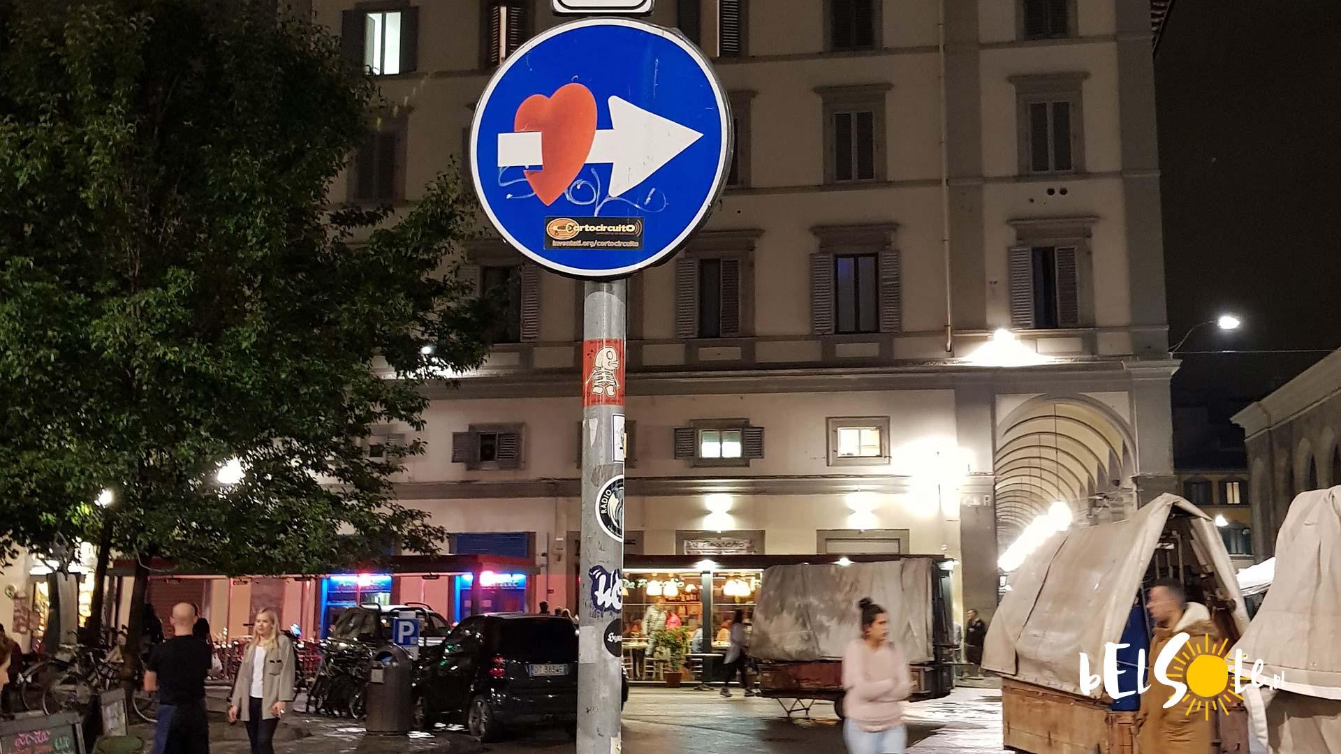 Znaki Clet Florencja