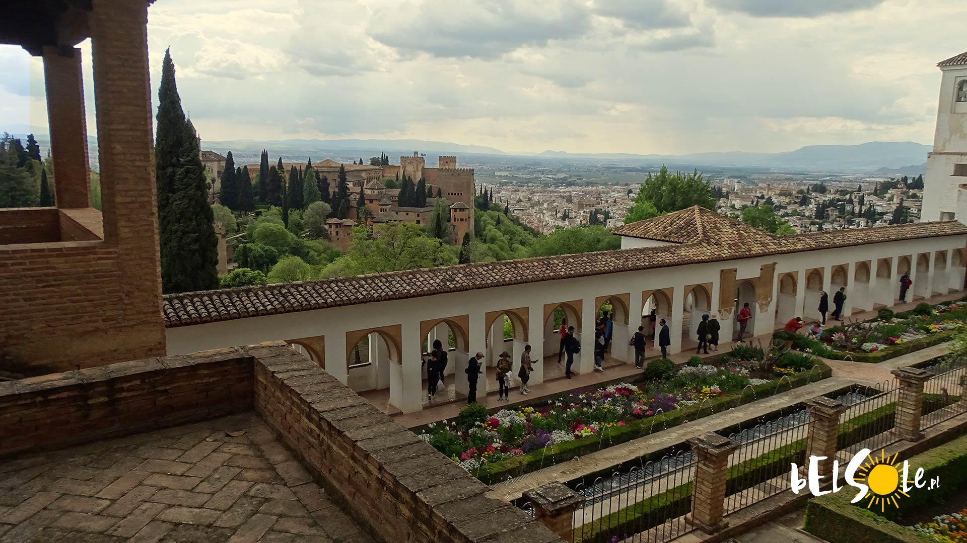 Generalife w Alhambrze