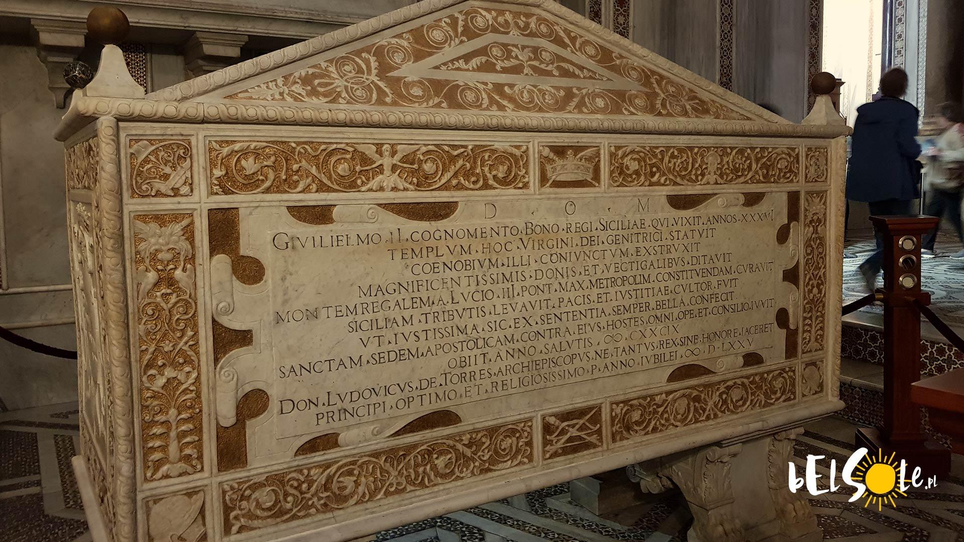 Sarkofag Wilhelma Monreale