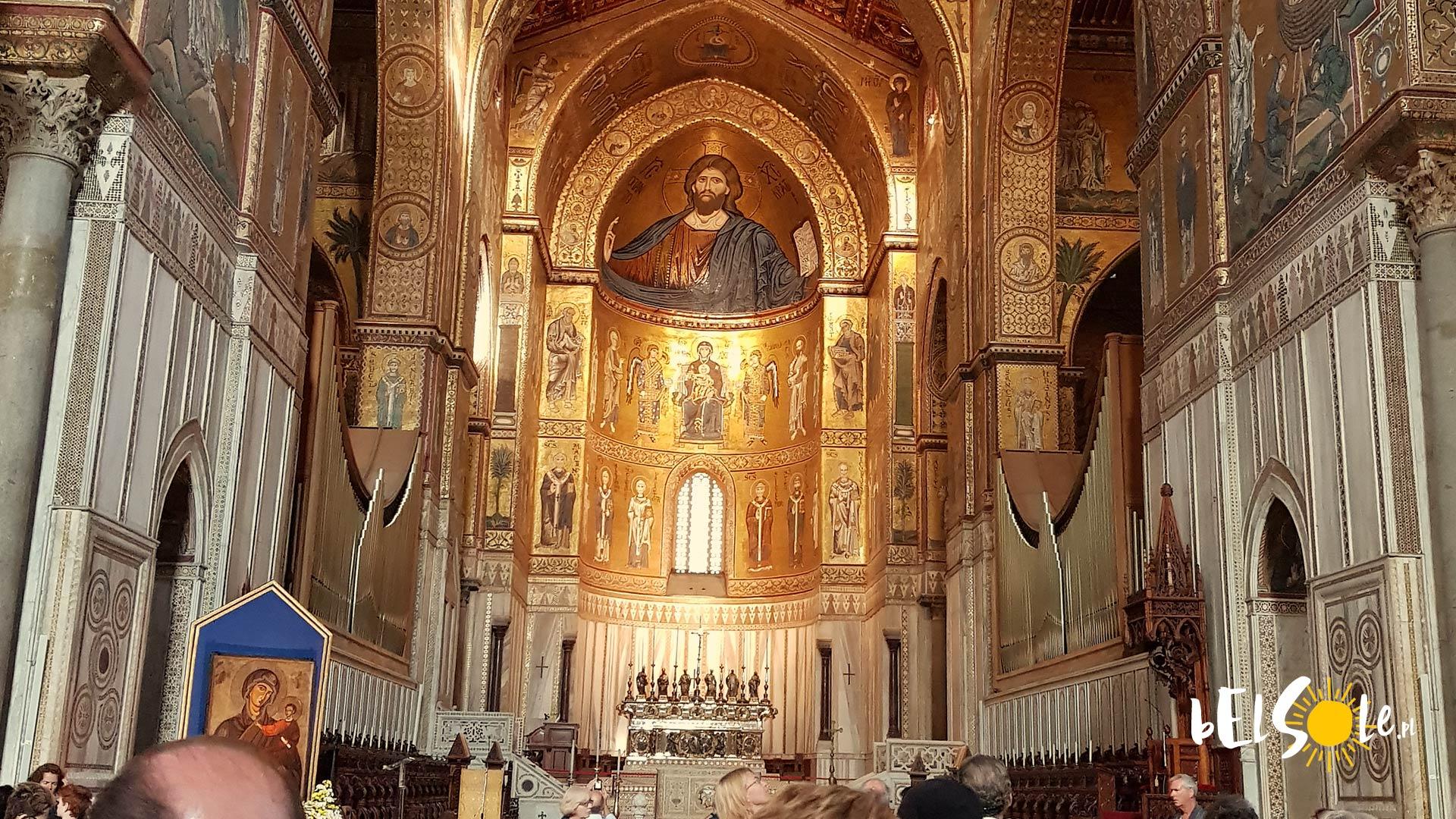 Katedra Monreale Wnętrze