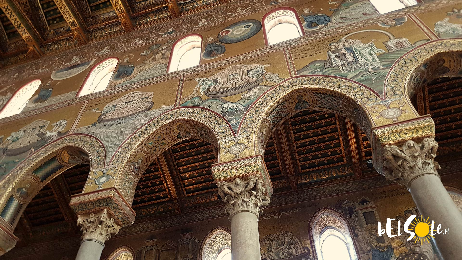 Katedra Monreale kolumny
