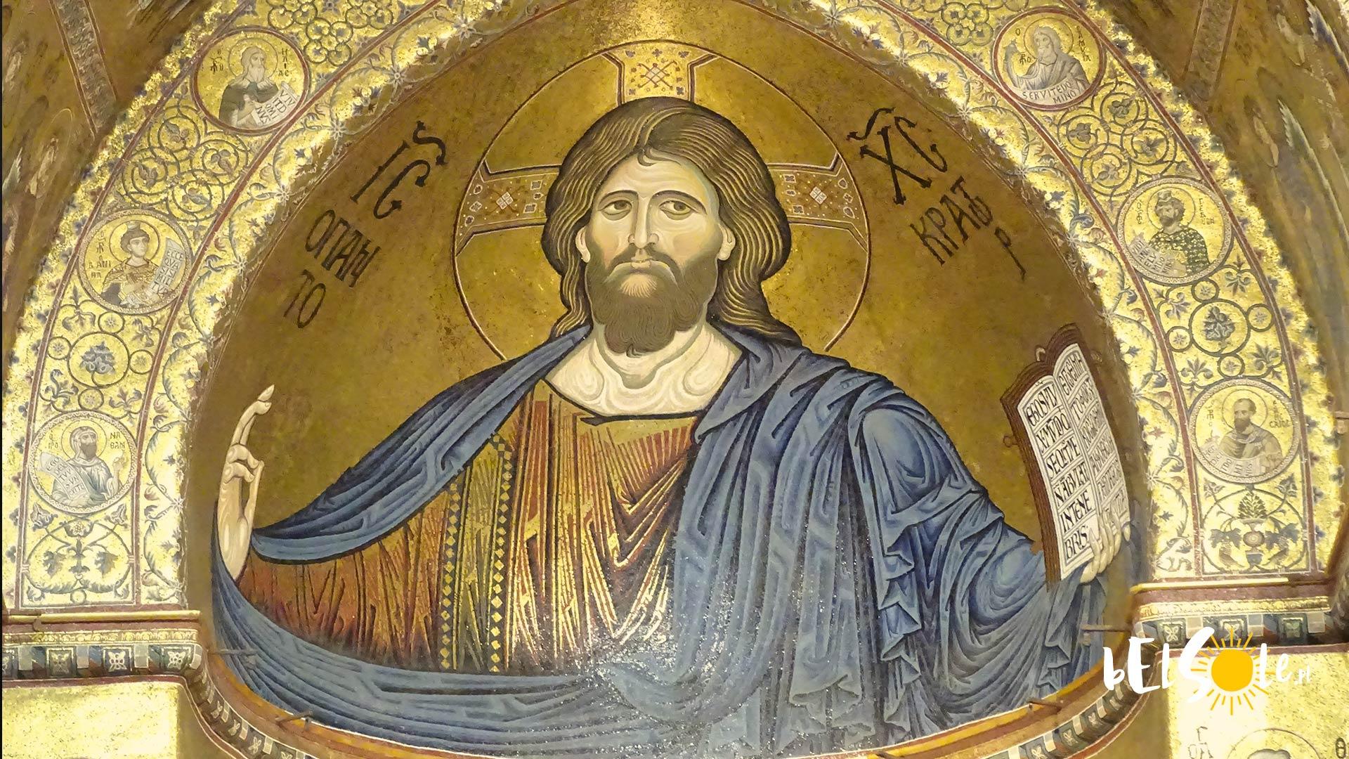 Jezus Pantokrator w Monreale