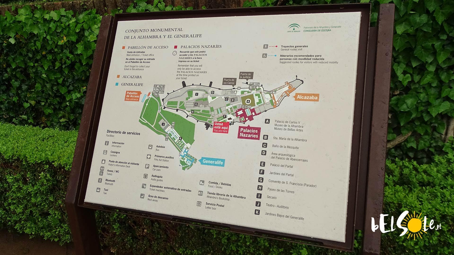 Plan Alhambry