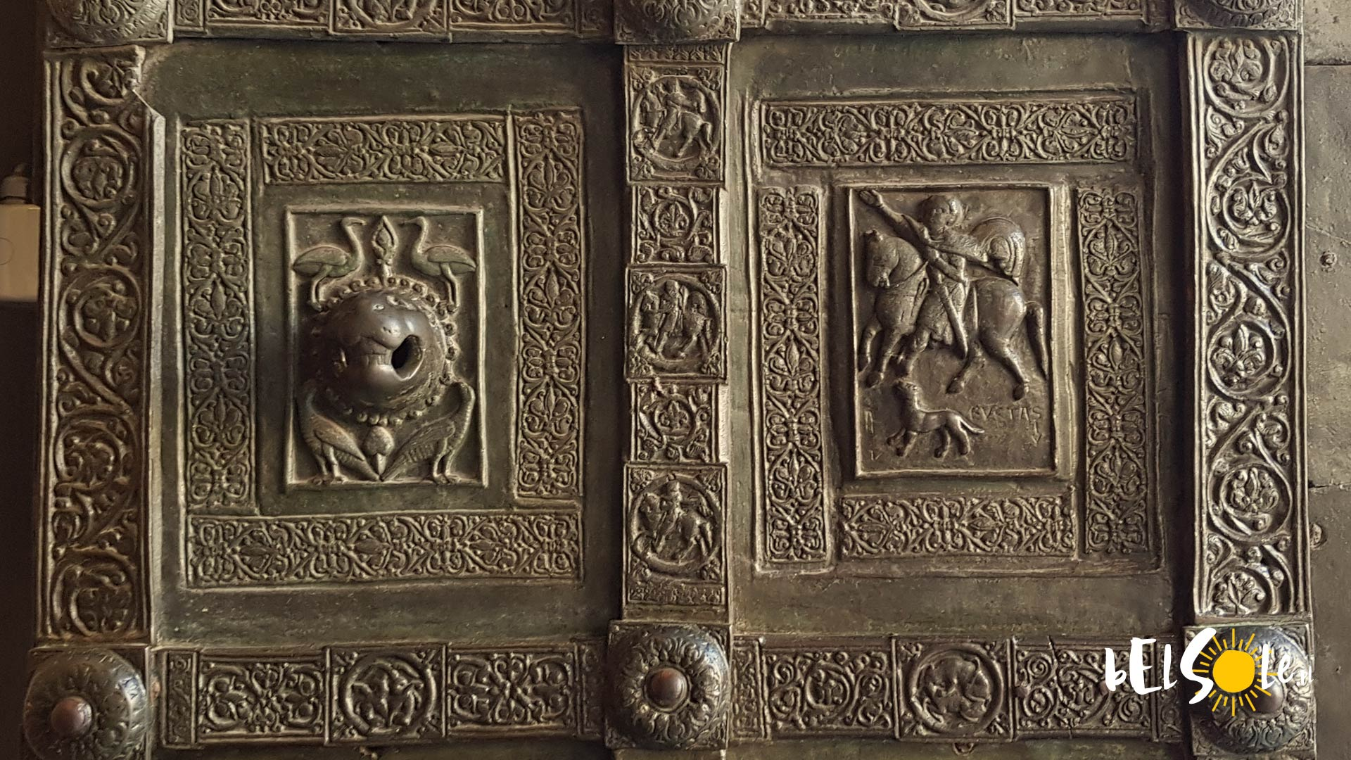 Portyk Monreale Katedra