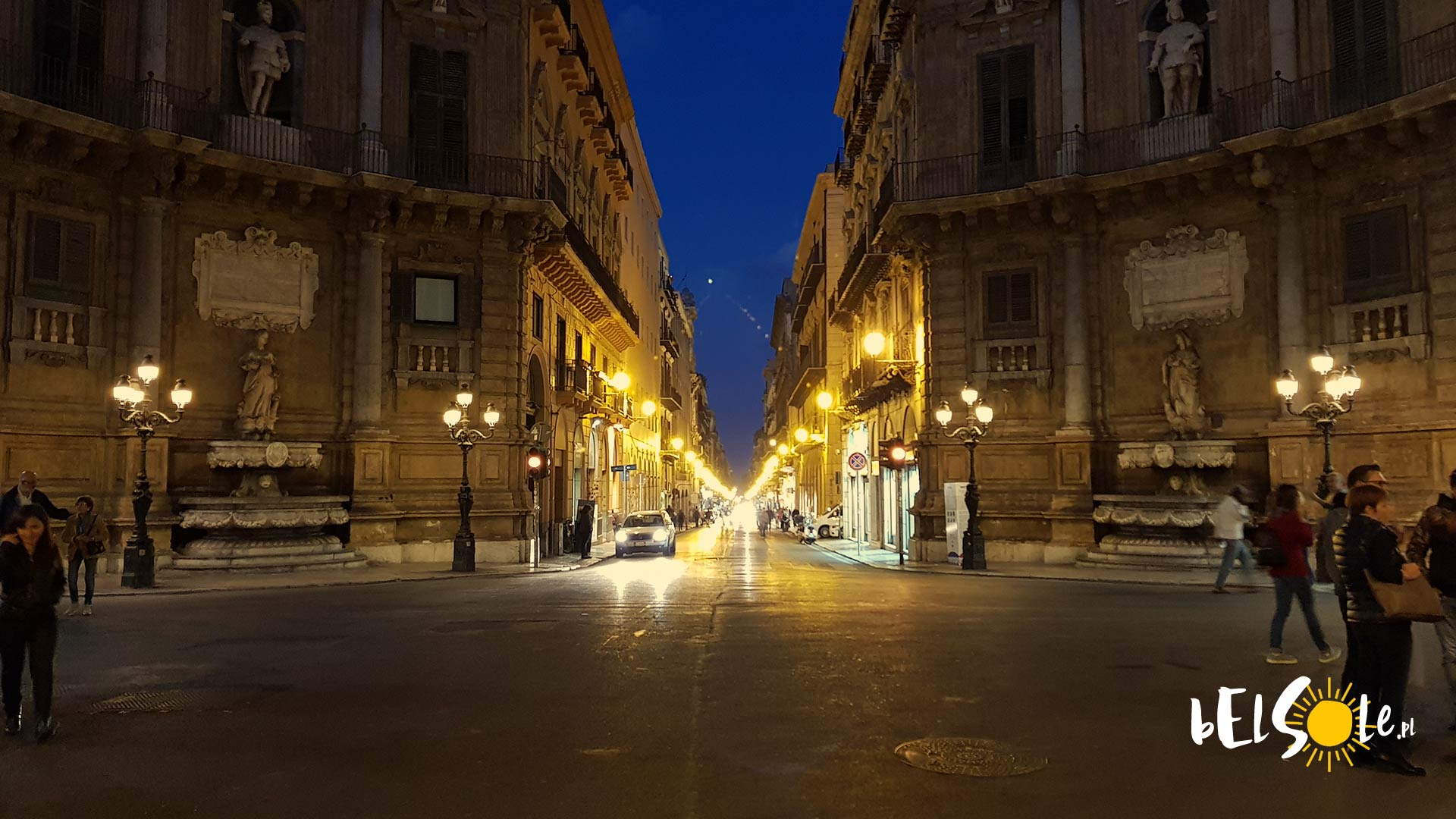 Palermo ulice i śmieci