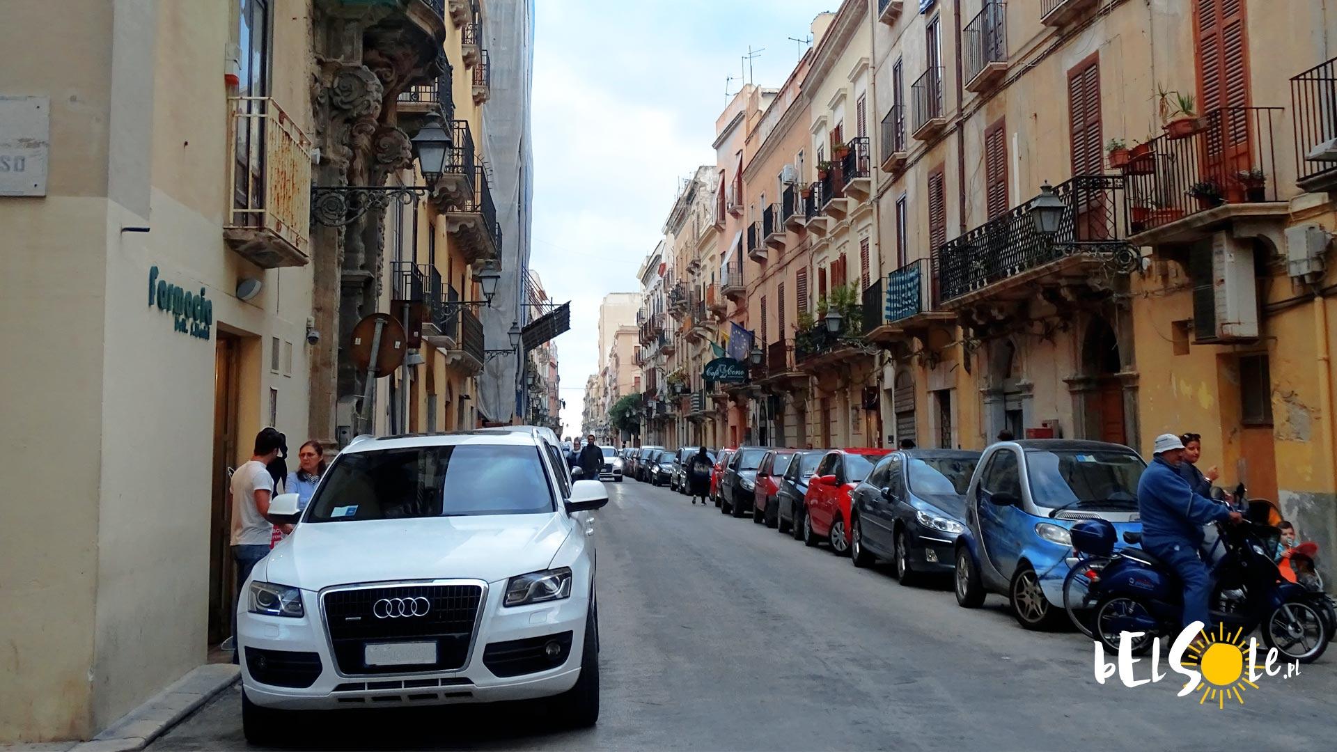 Włochy samochodem- mandaty