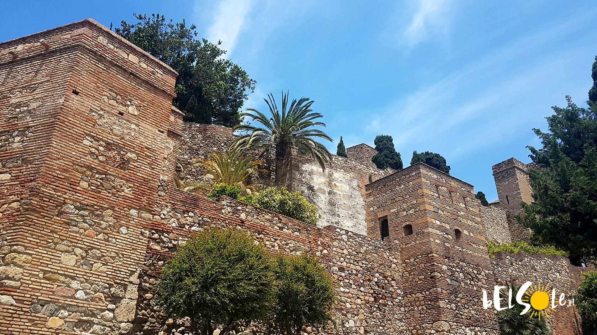 Pałac Alcazaba w Maladze