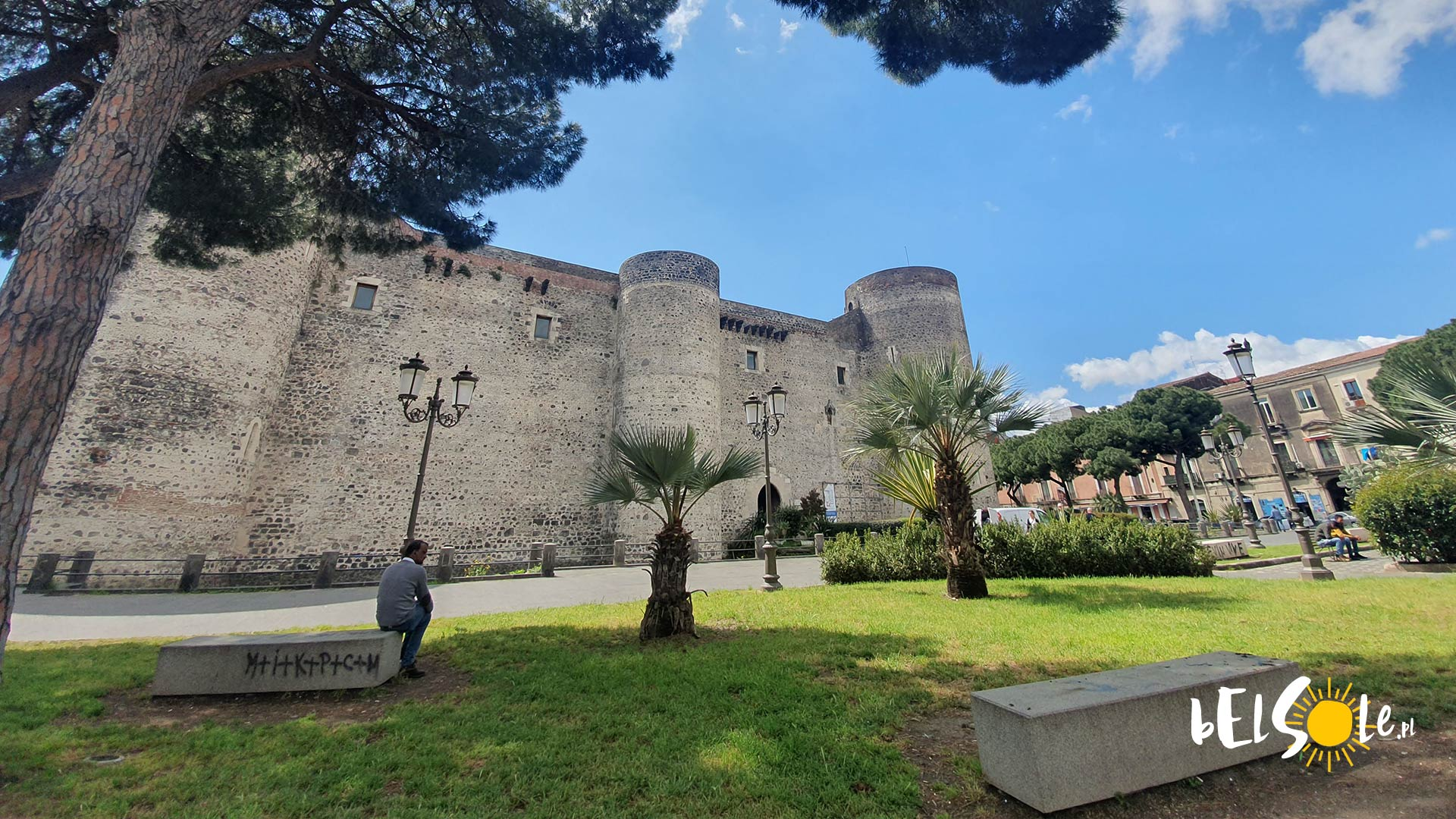 Castello Ursino w Katanii