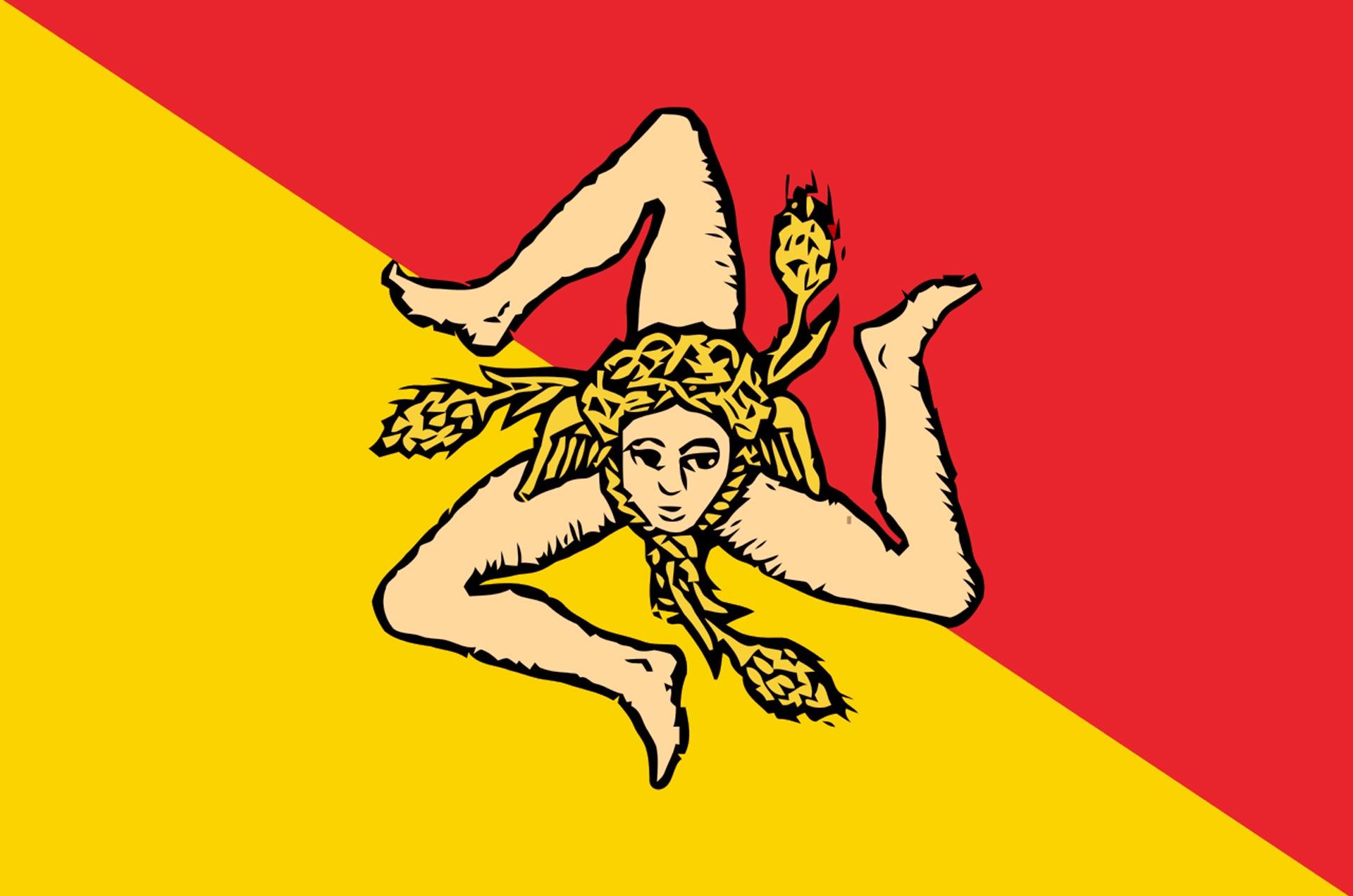 Flaga Sycylii