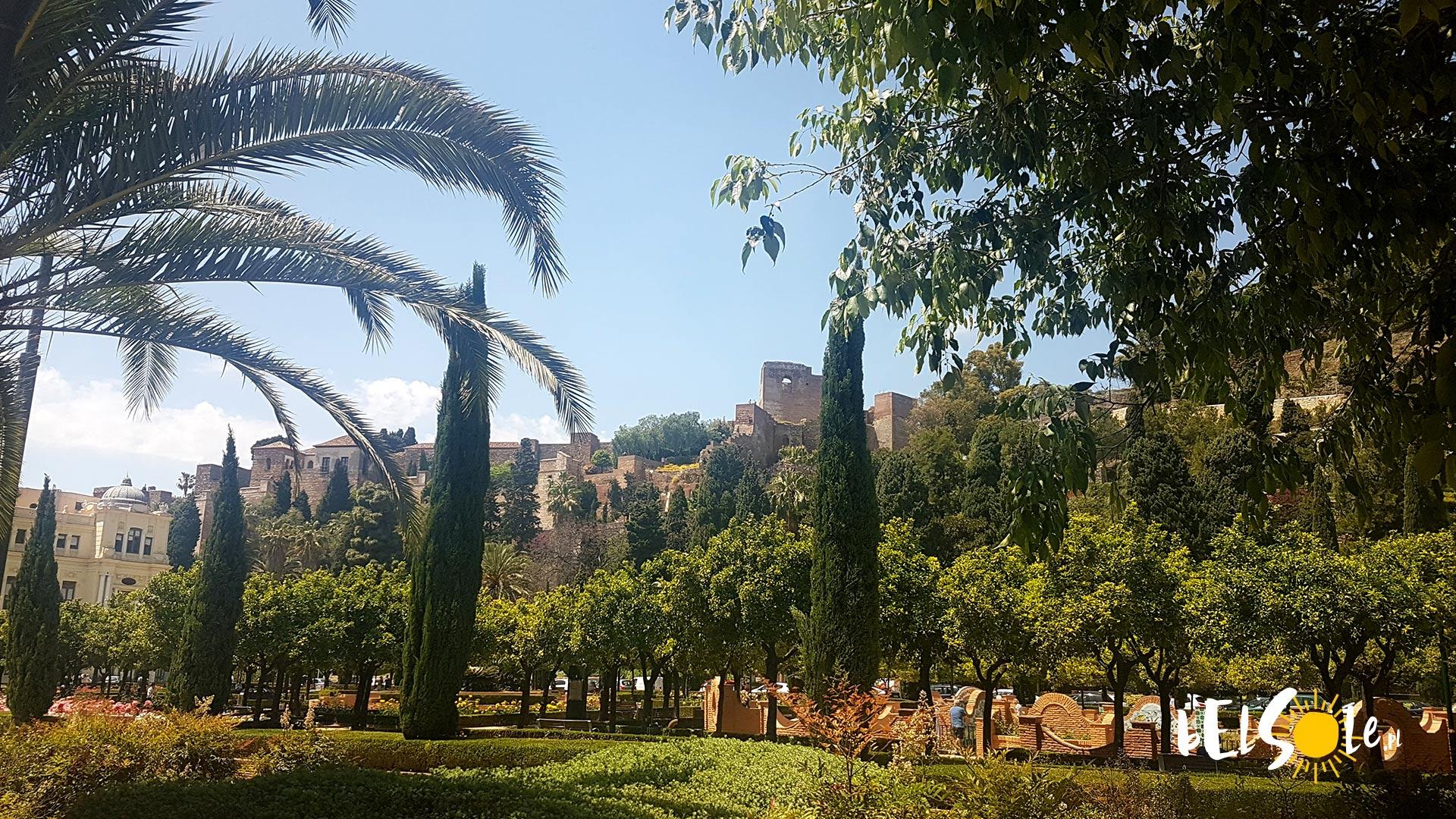 Ogrody w Maladze