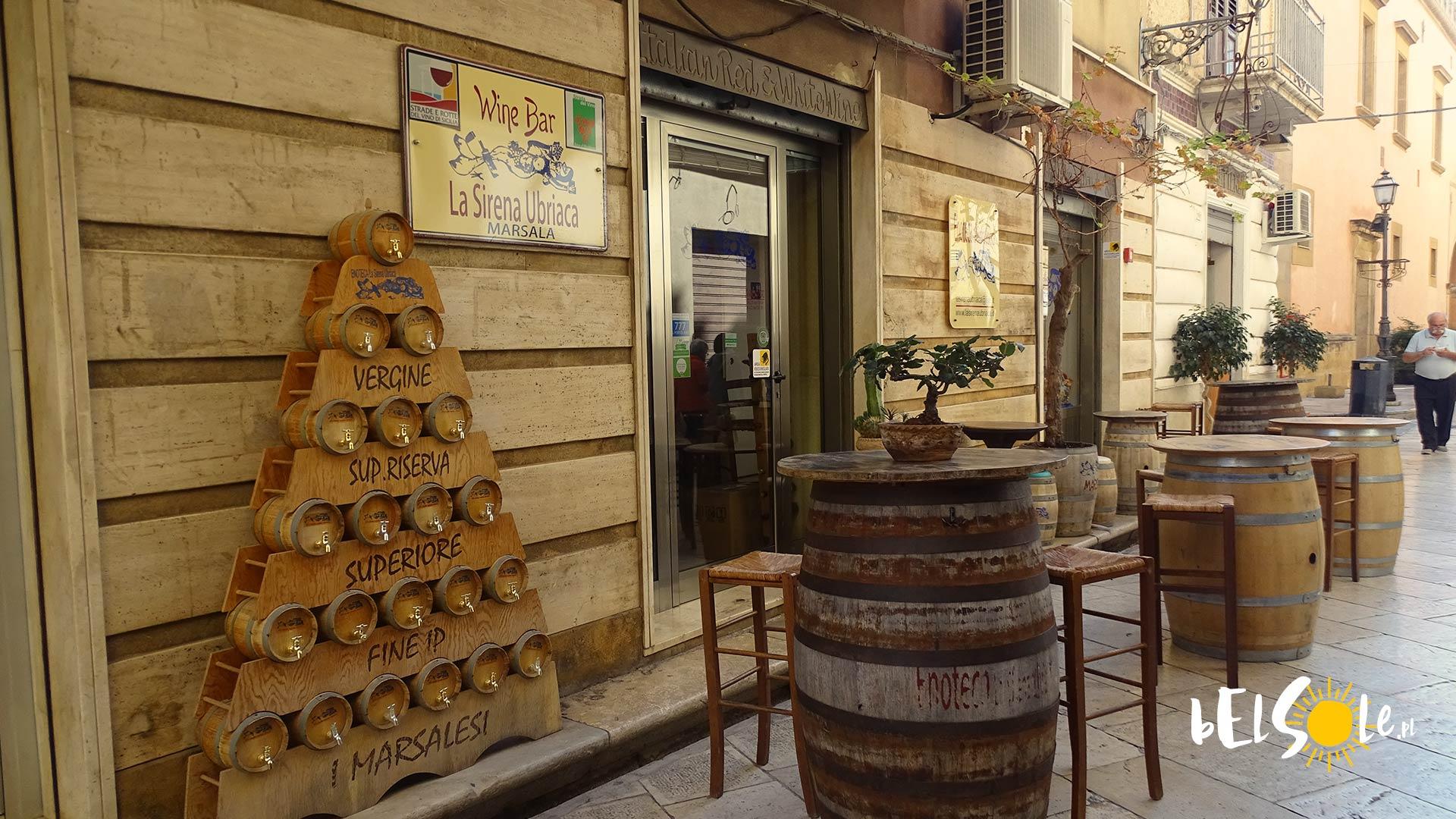 Winebar Marsala