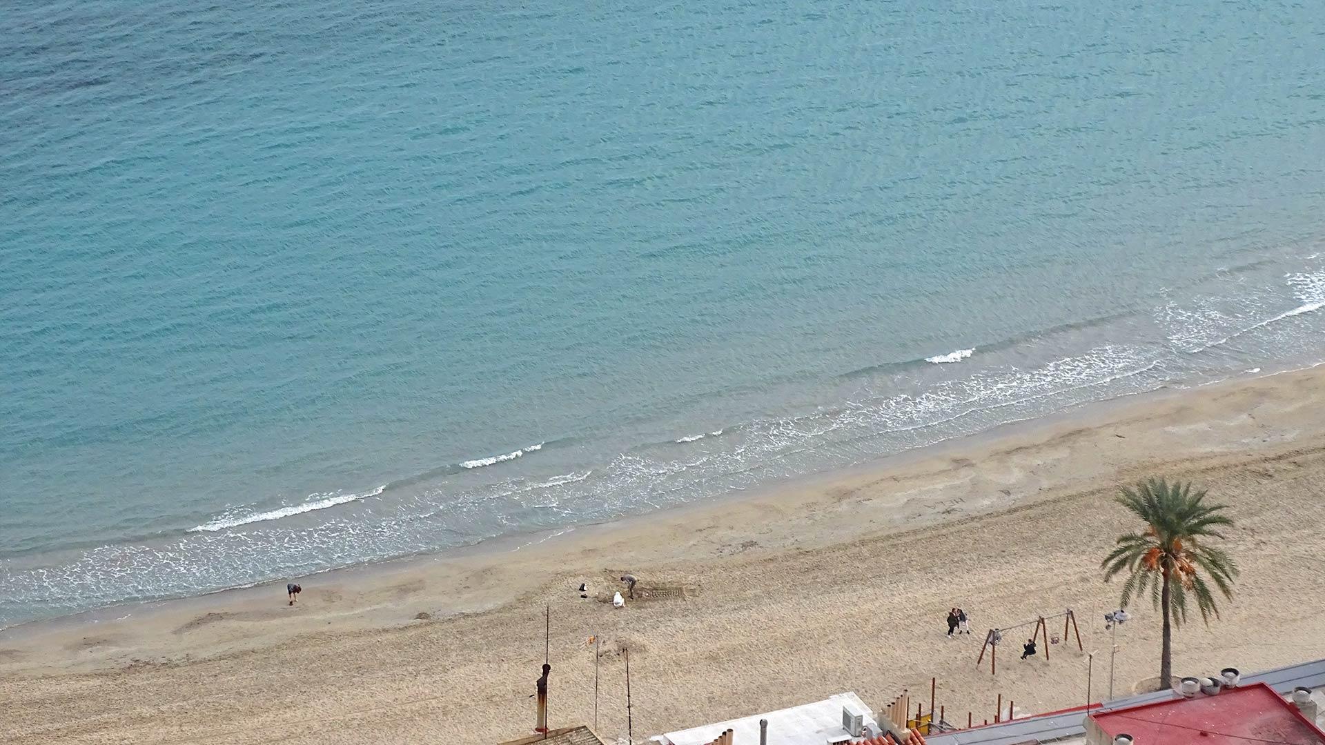 Alicante grudzień