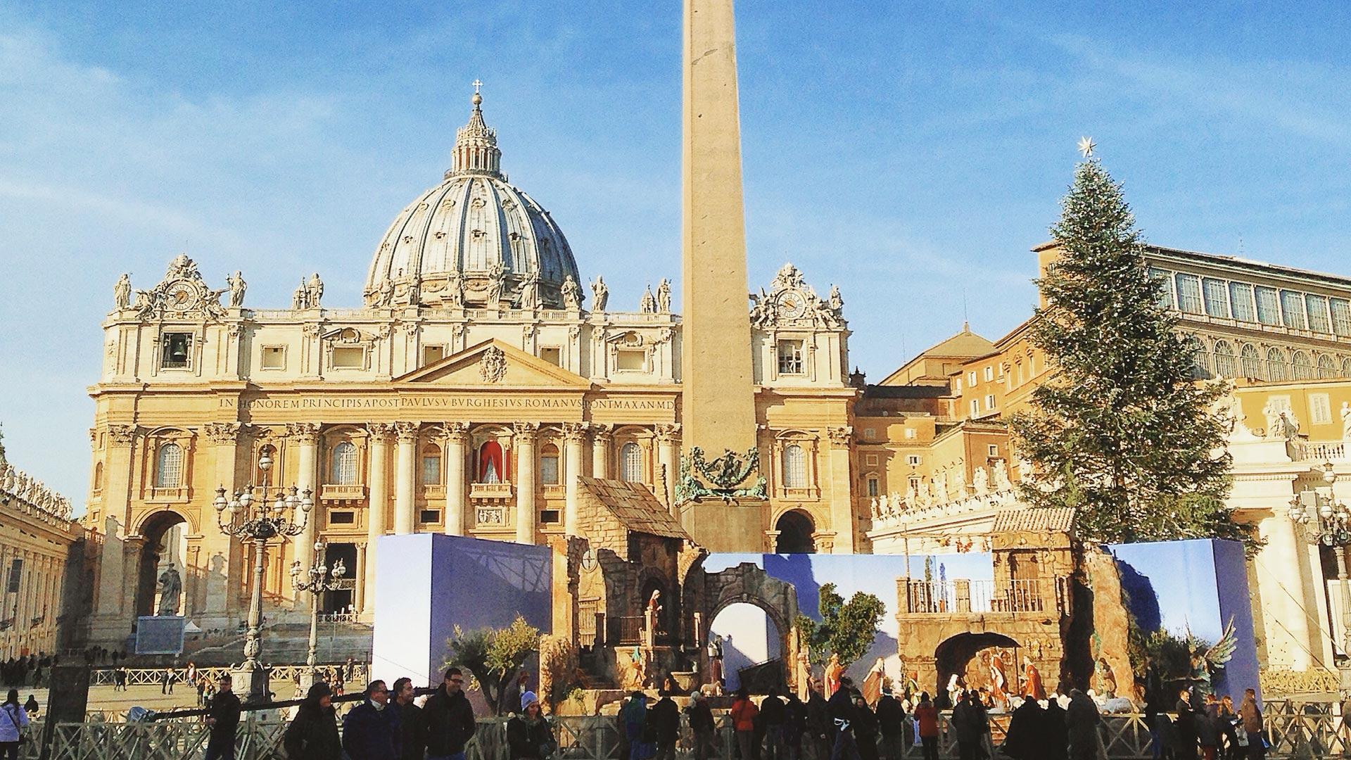 rzym w grudniu