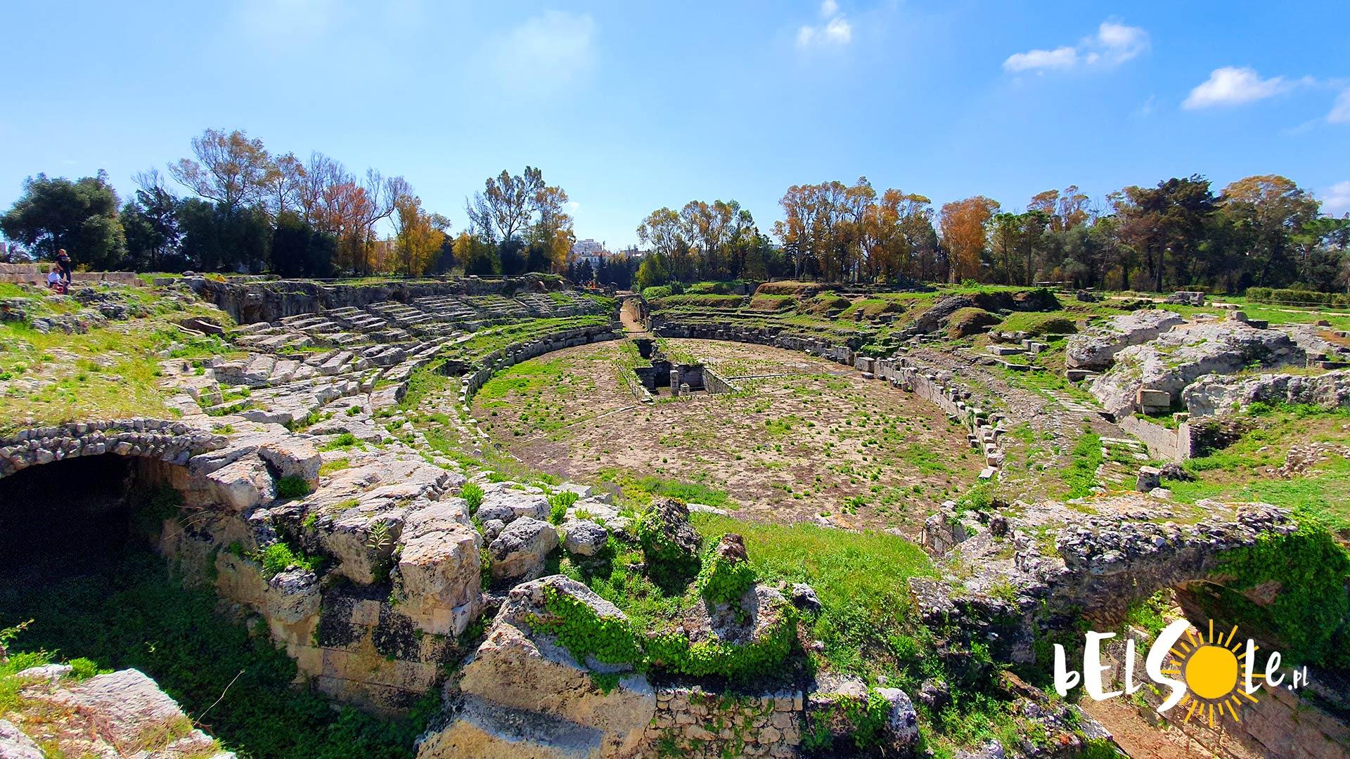 amfiteatr rzymski syrakuzy