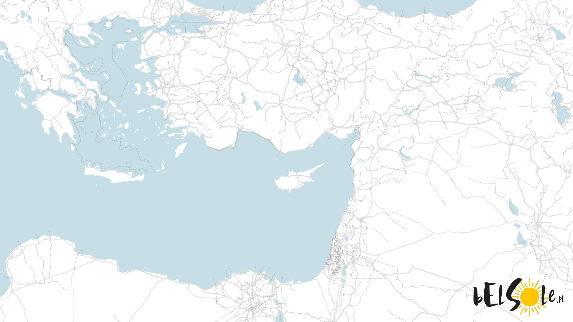 Wyspa otoczona przez trzy kontynenty.