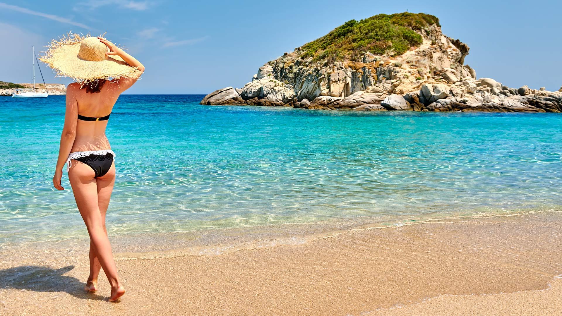 plaże grecja