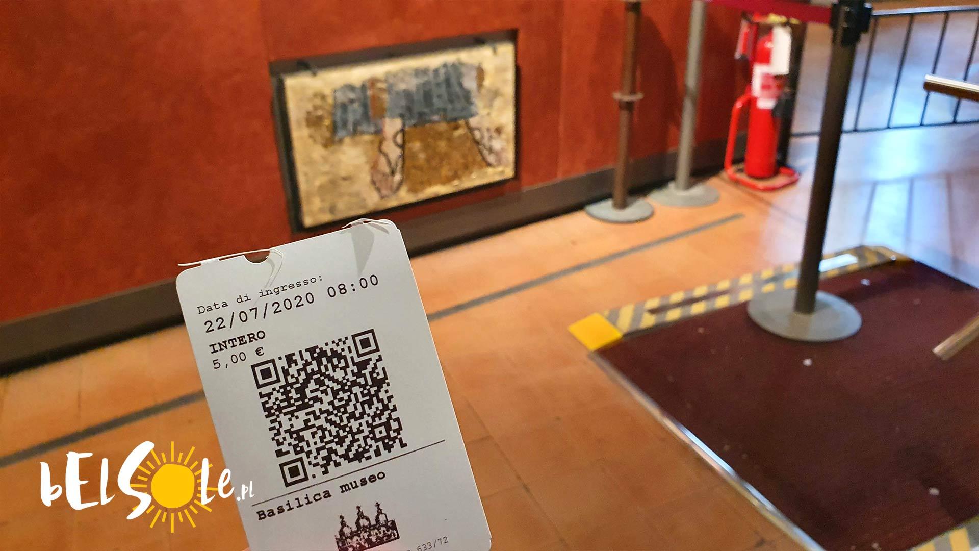 bilety bazylika świętego marka