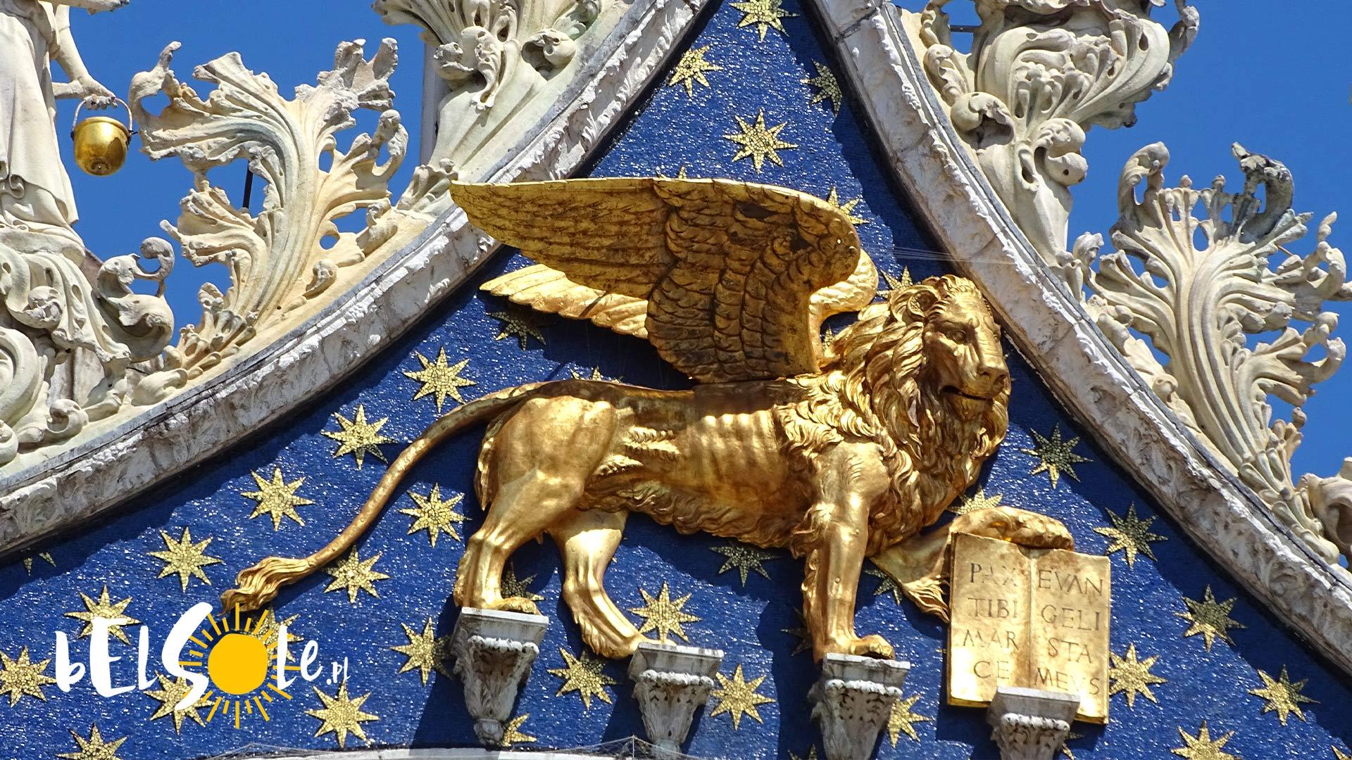 lew świętego marka