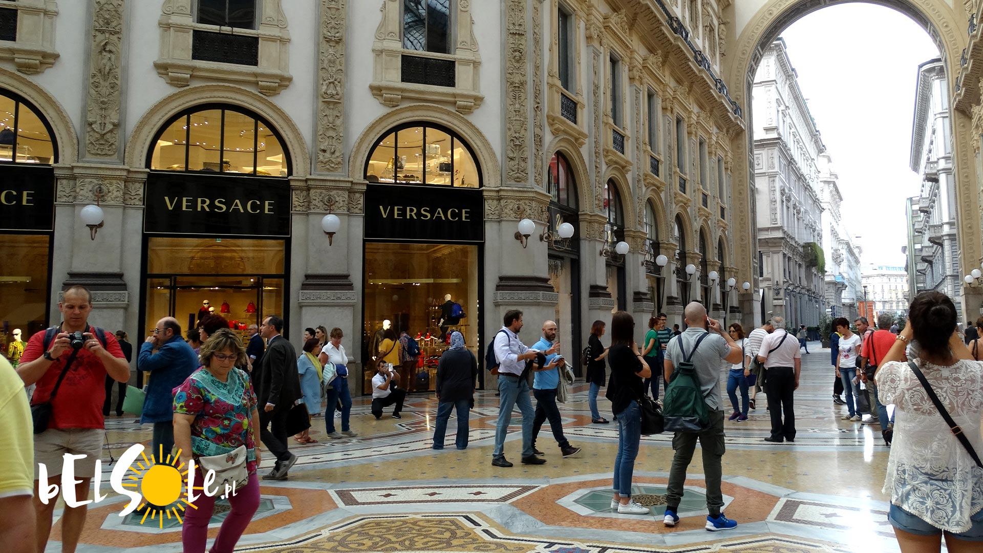 Gdzie kupić ubrania w Mediolanie