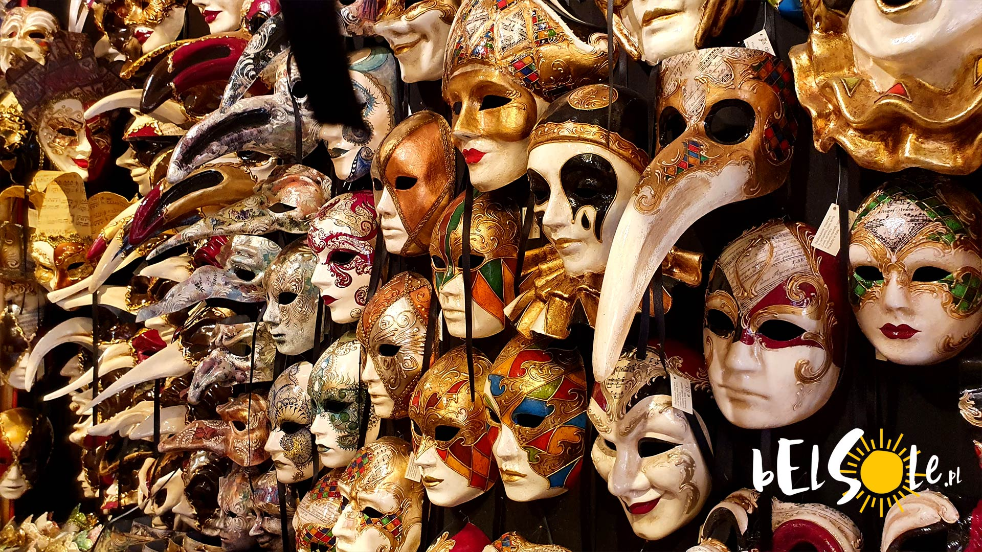 wenecja maski