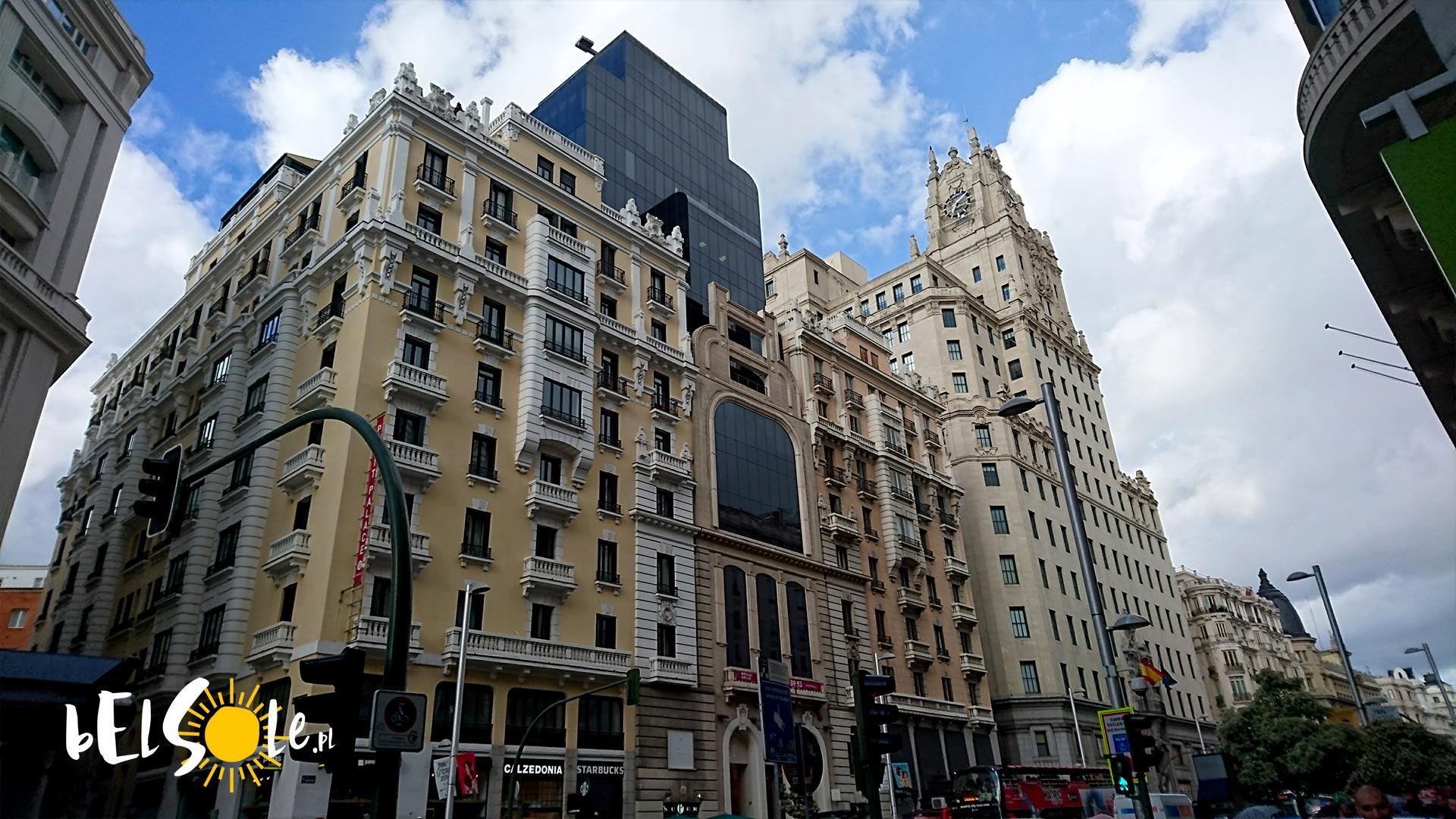 Gran Via Madryt