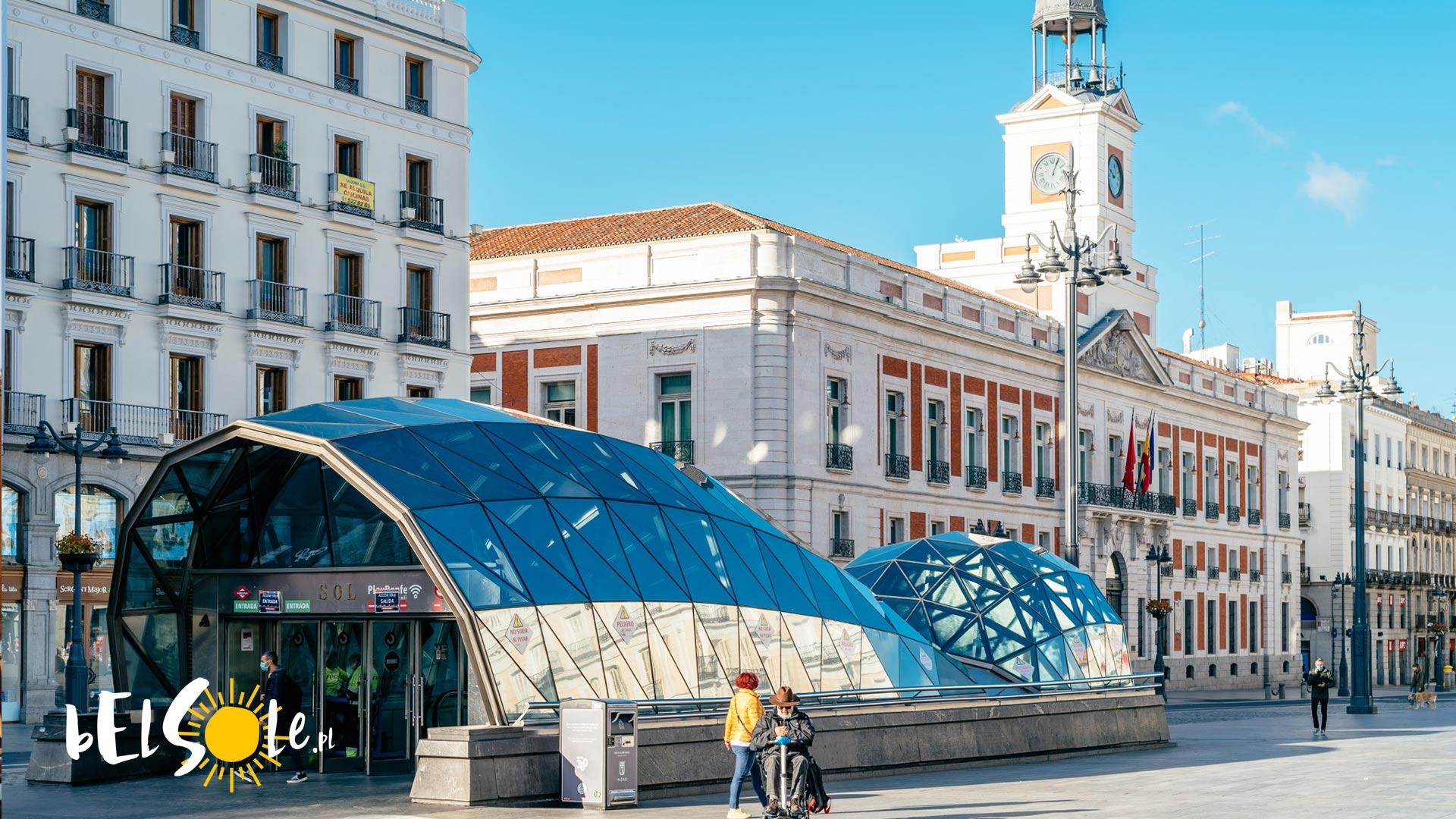 Puerta del Sol Madryt