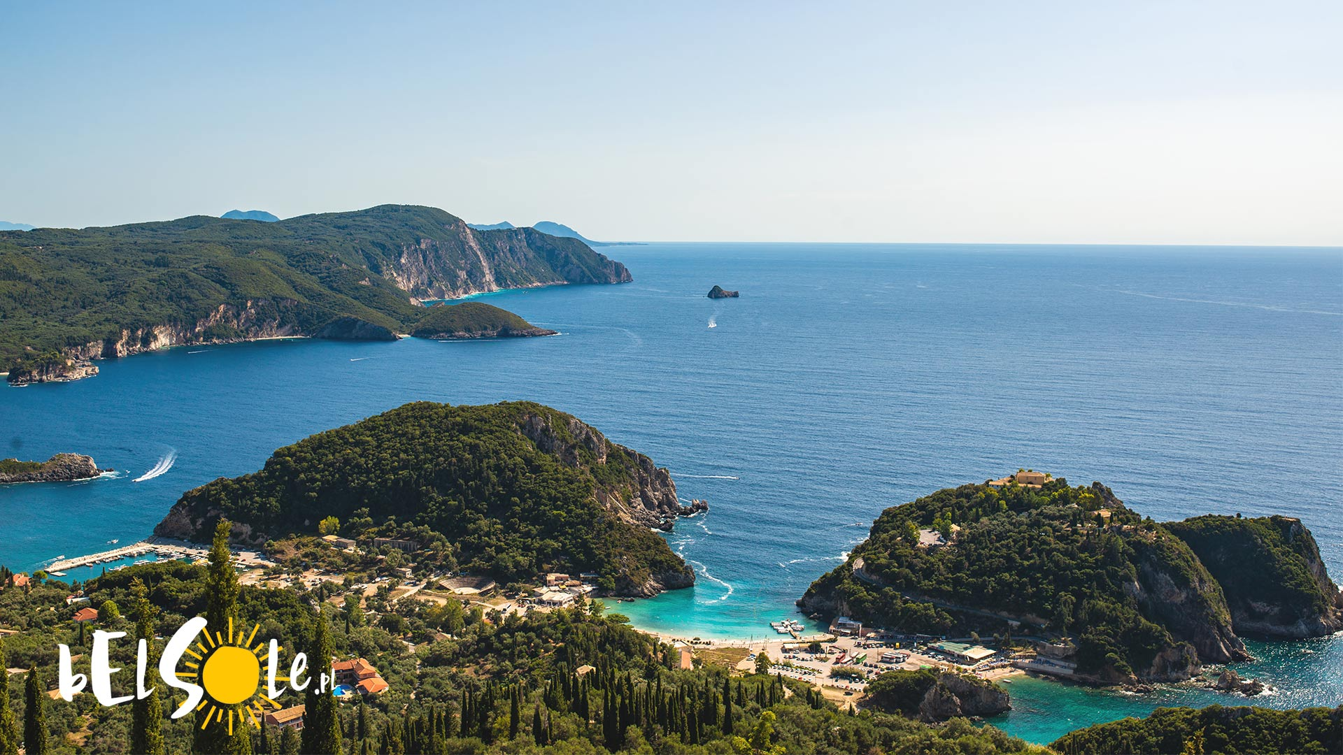 Czy Korfu jest nad morzem