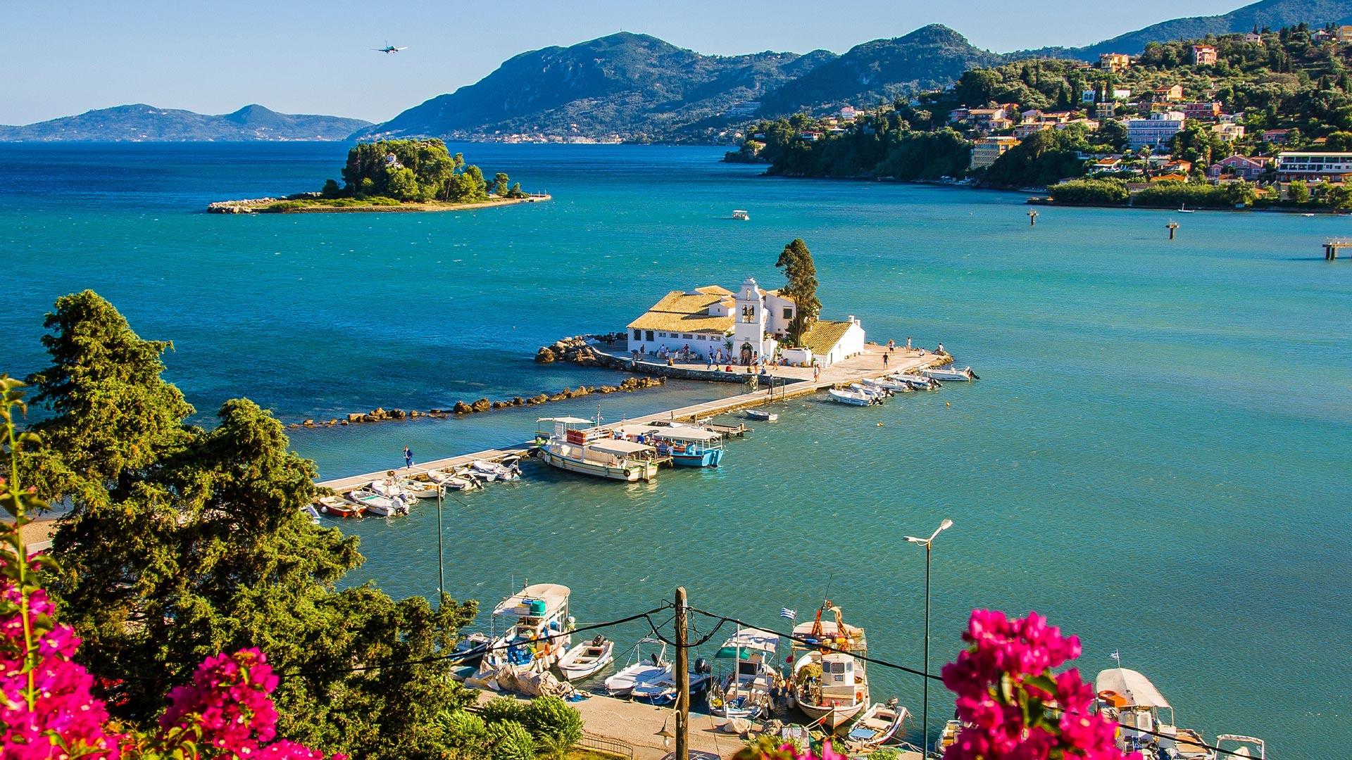 czy na Korfu jest ciepło