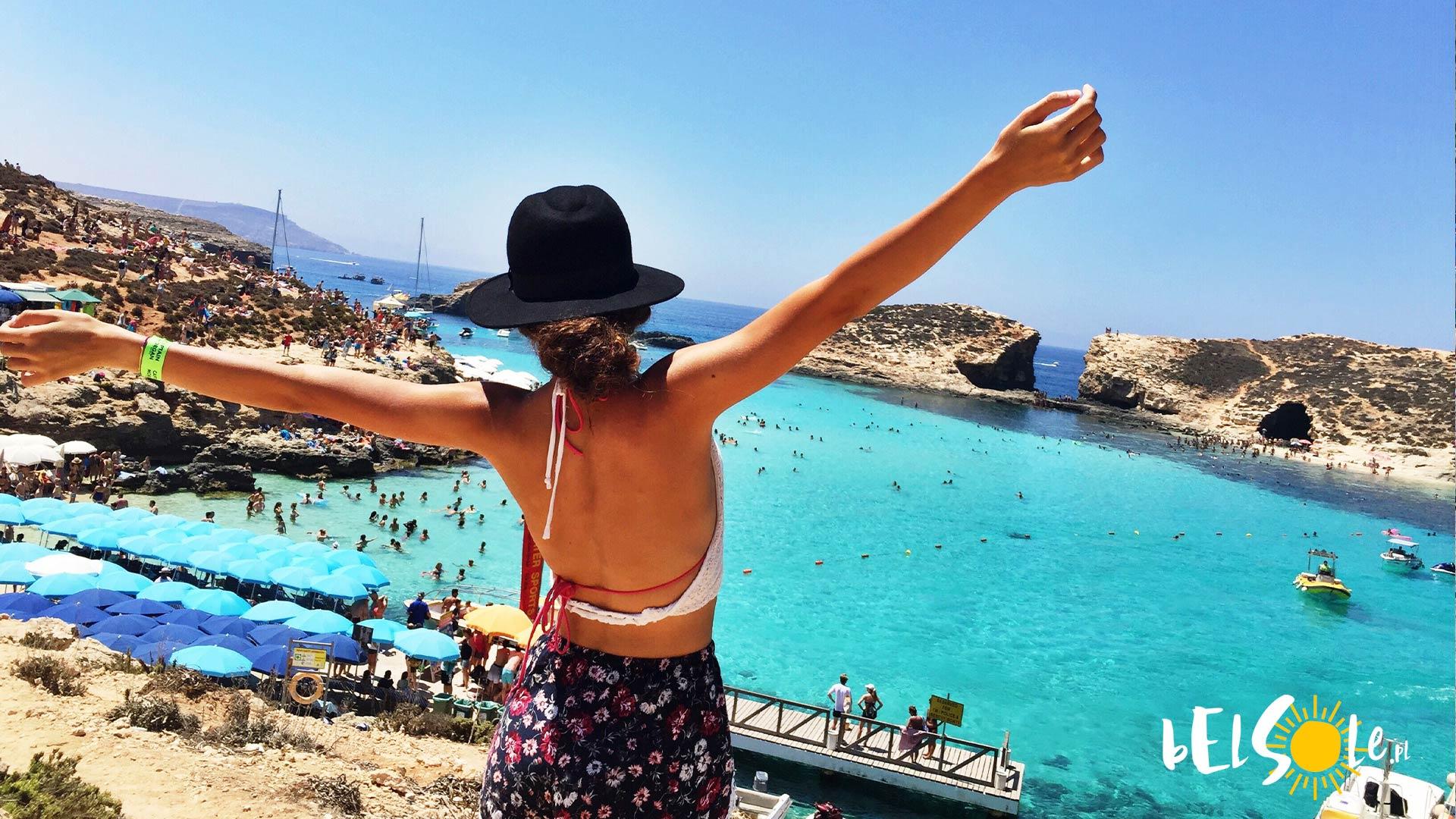 najlepsze plaże Malta