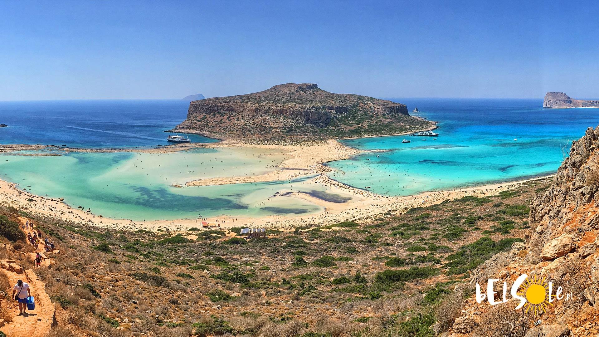 najlepsze plaże na Krecie