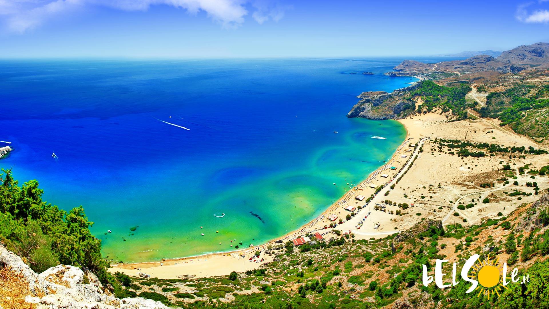 najlepsze plaże na Rodos