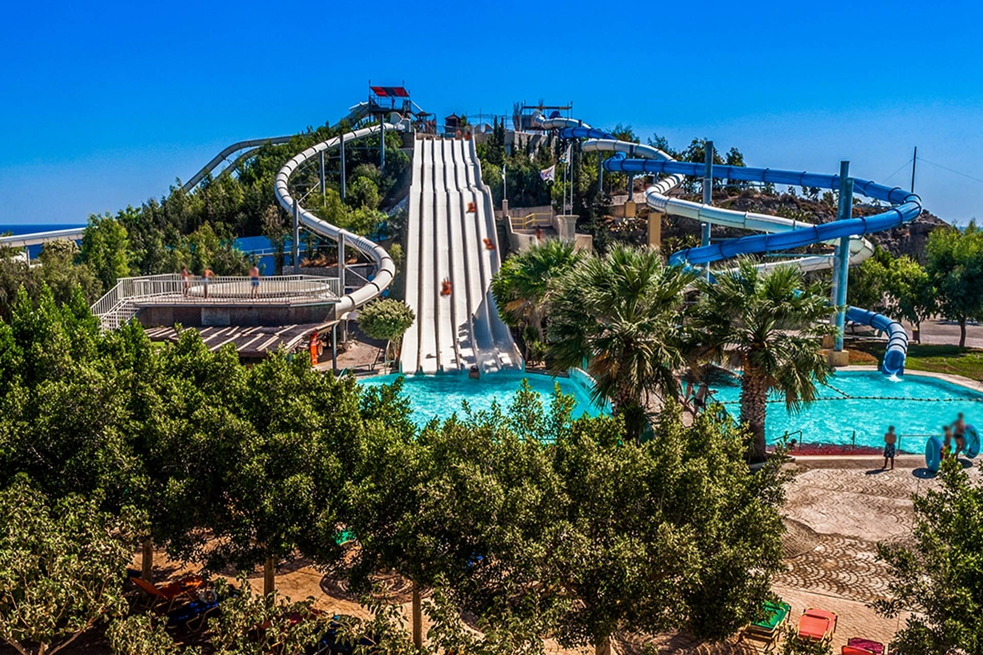 park wodny na Rodos