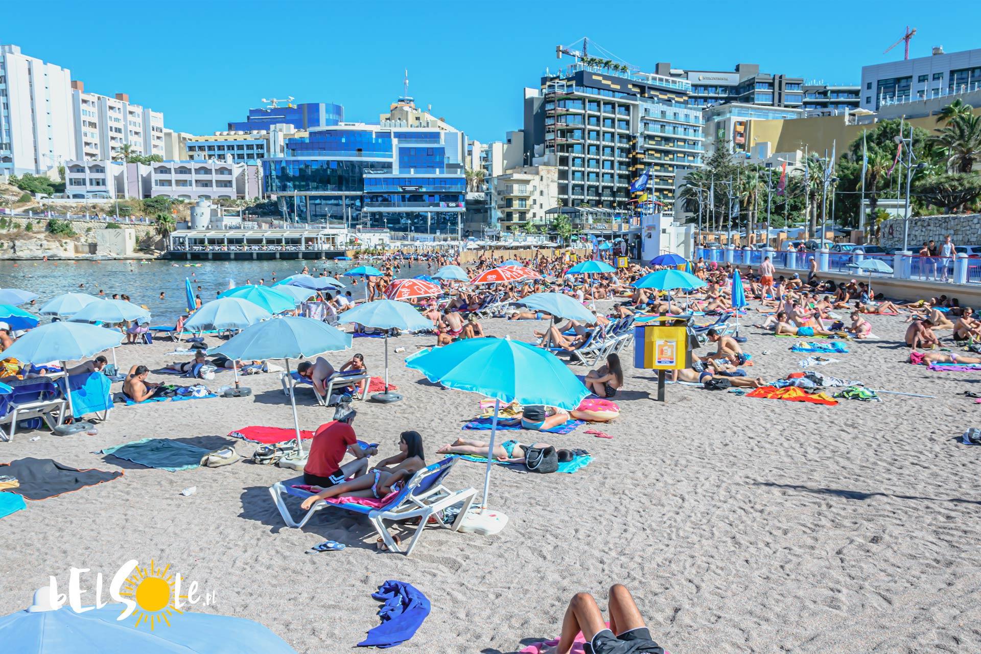 św Jerzy Malta plaża