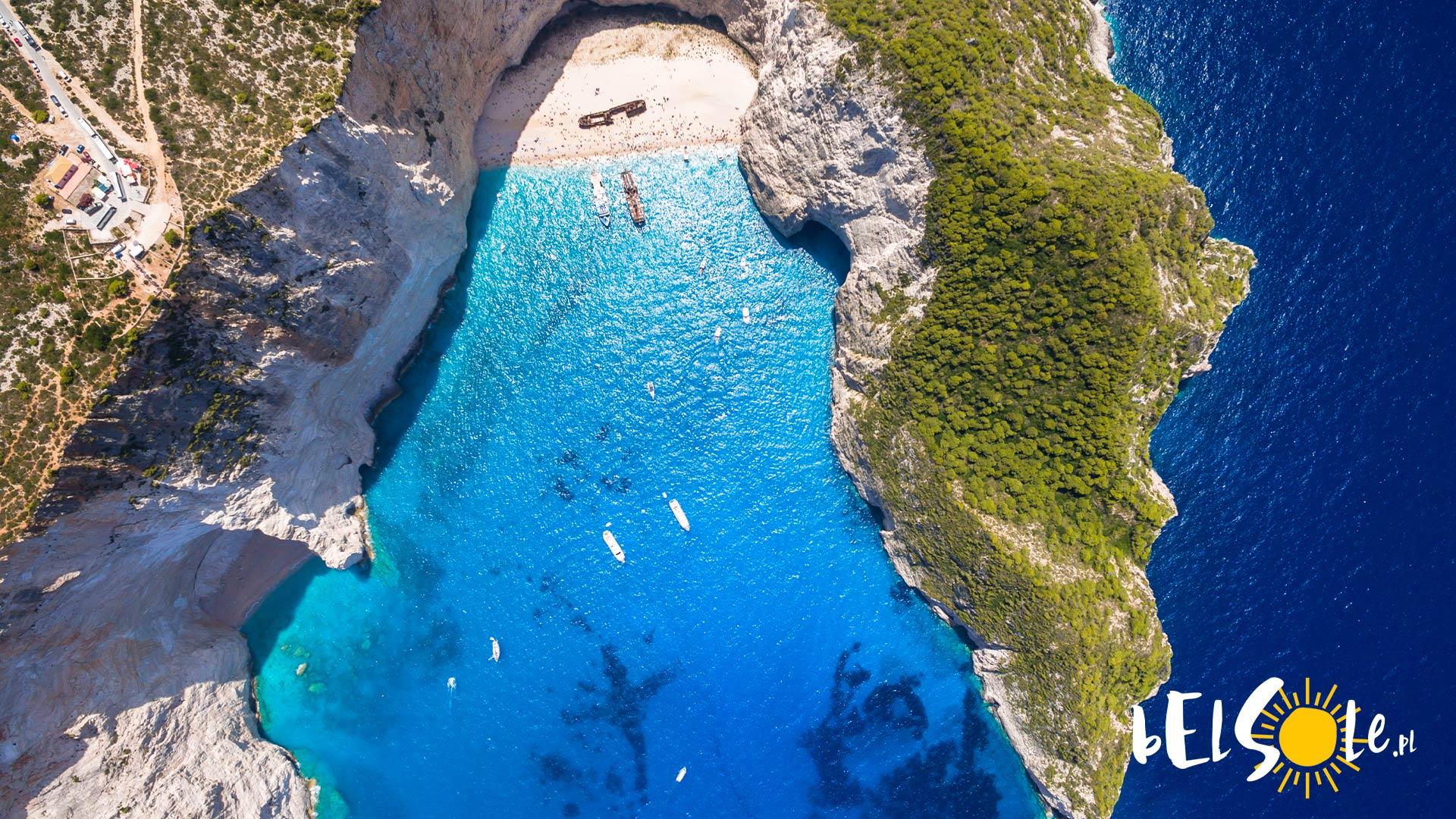 Zakynthos atrakcje plaże