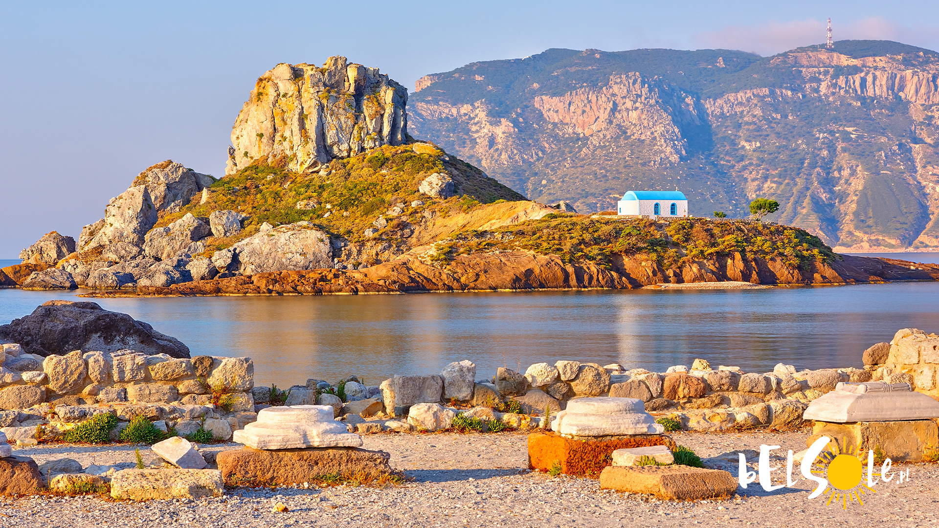 najlepsze plaże na Kos