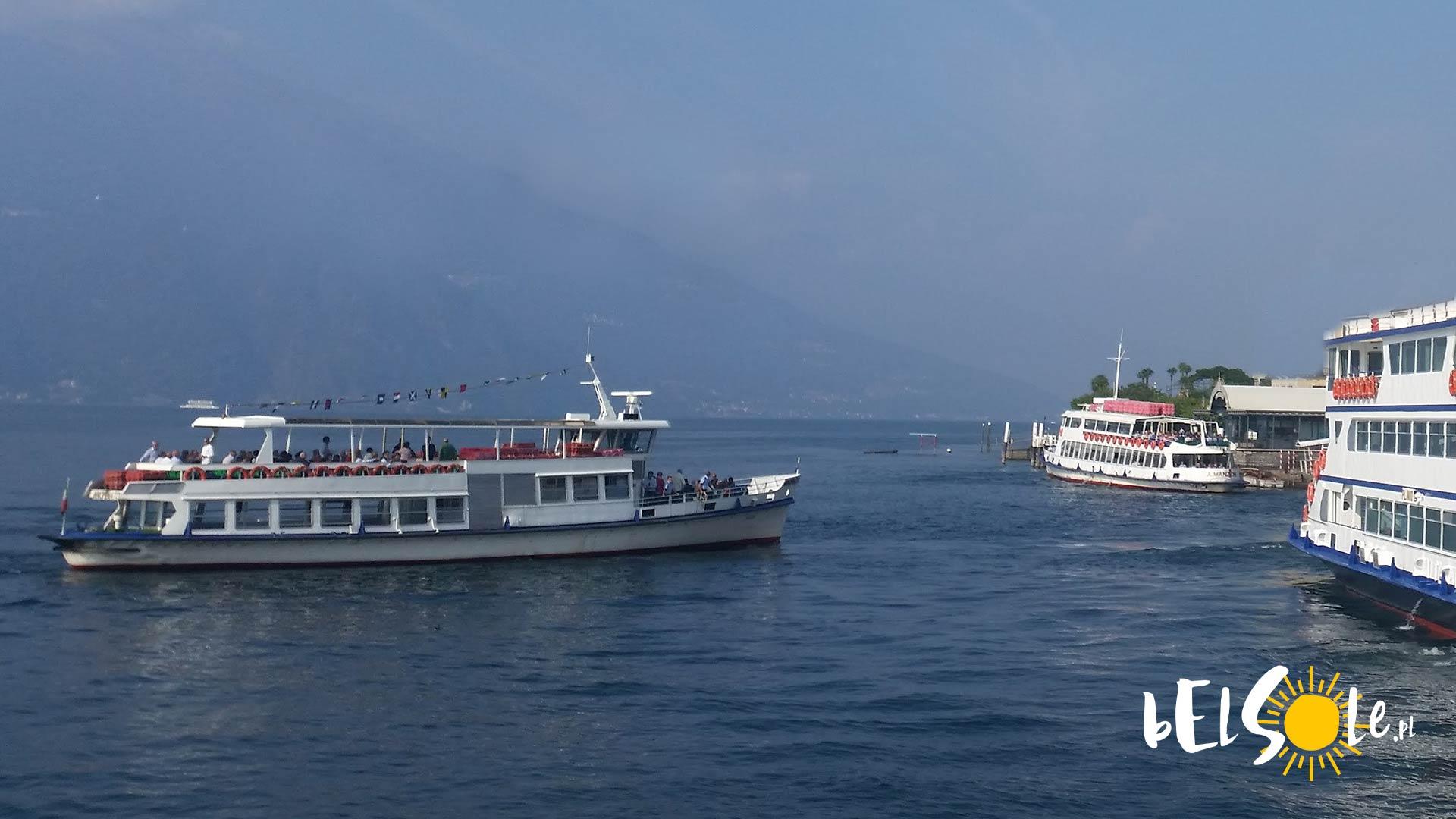 promy jezioro Garda