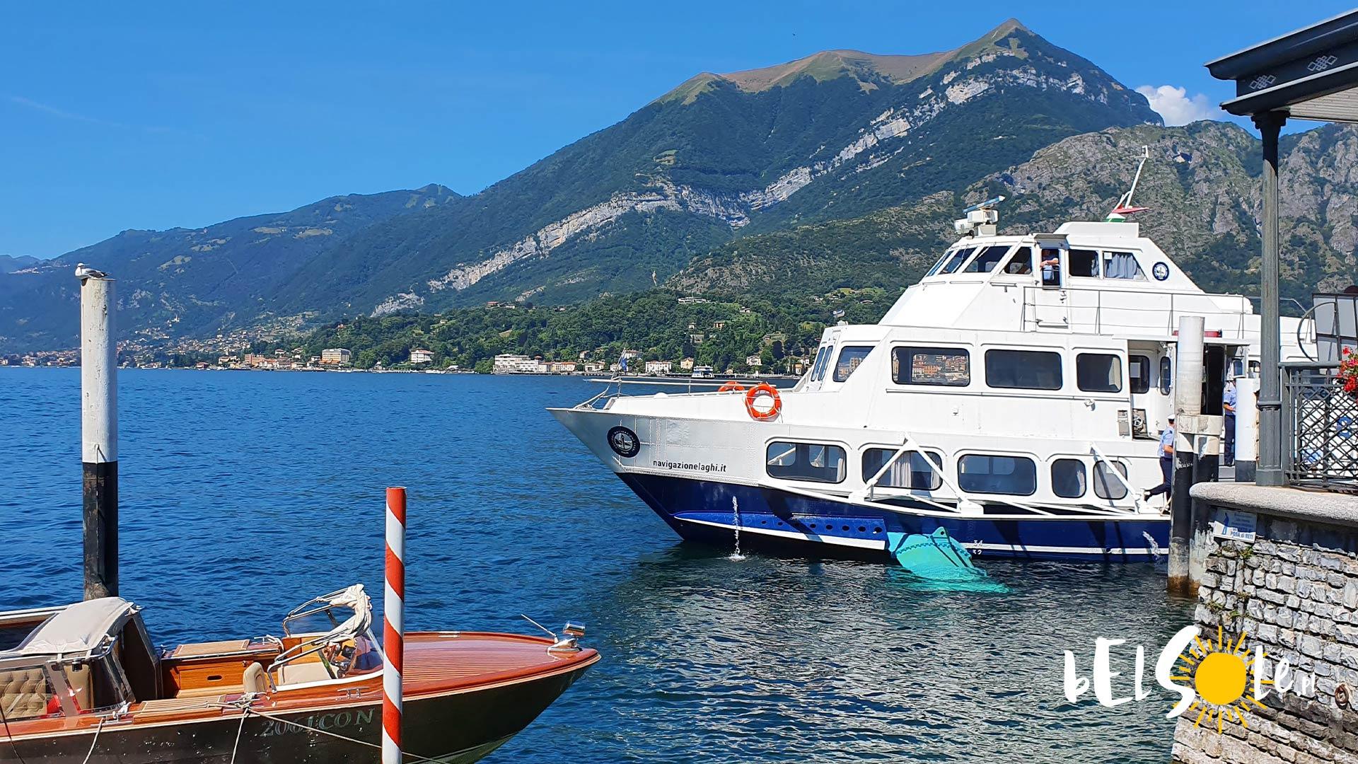 rejs promy po jeziorze Como