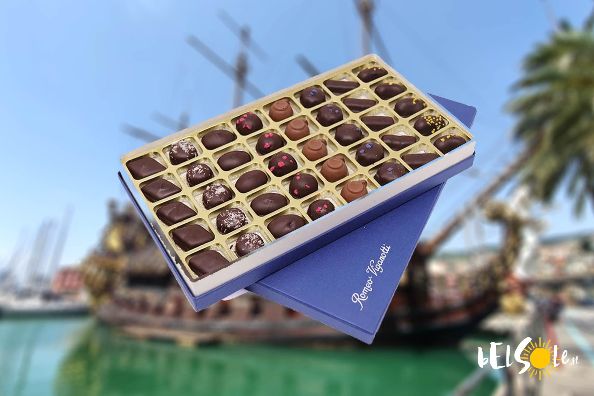 czekoladki genua