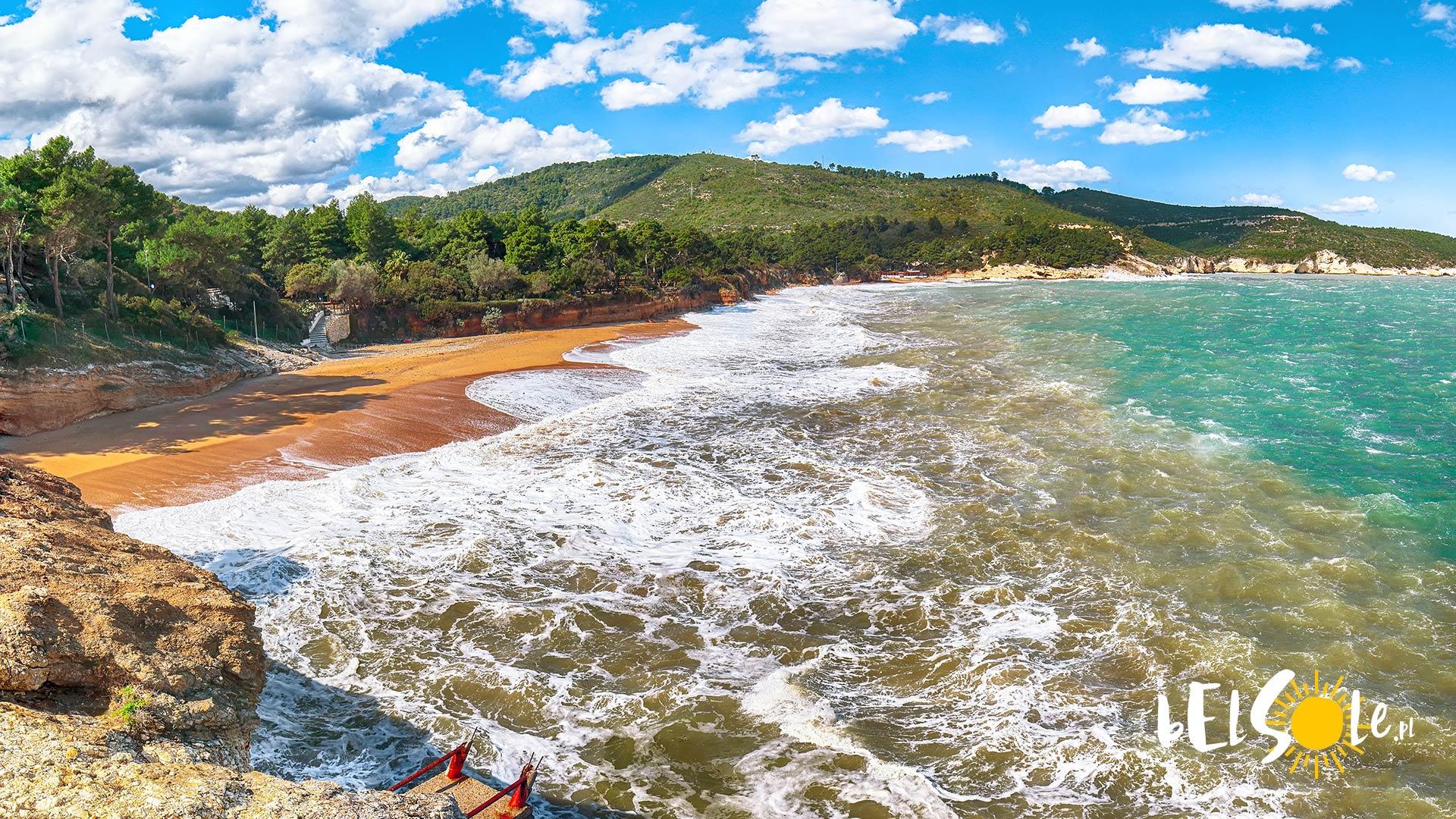najladniejsze plaze Apulia