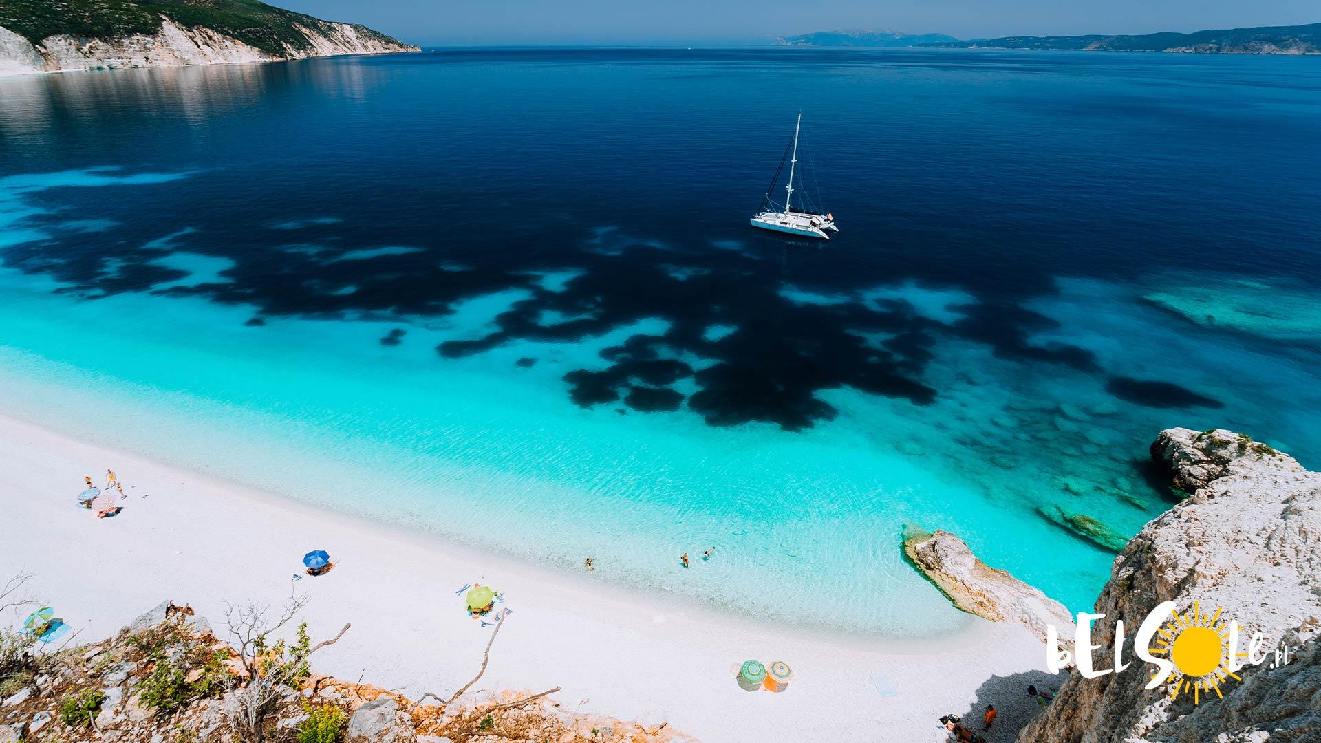 najladniejsze plaże Kefalonia